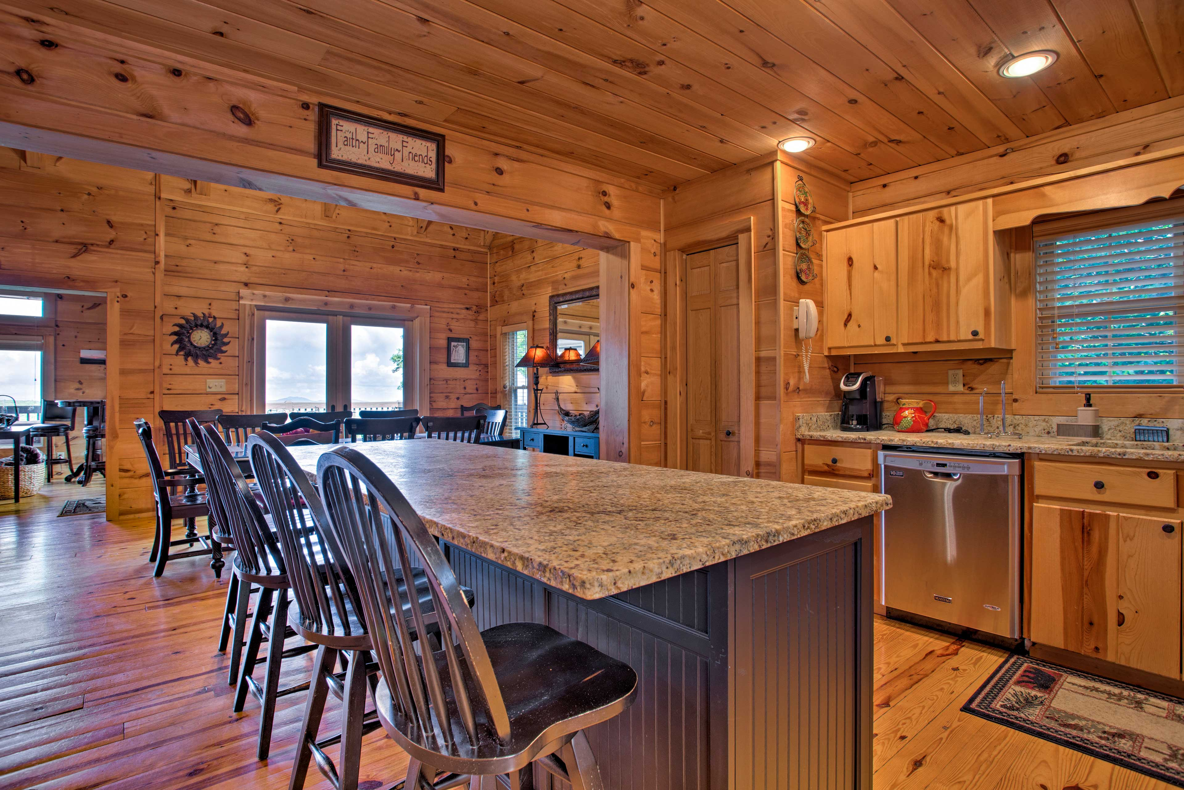 Don't forget the K-Cups! This property has a Keurig for morning convenience.