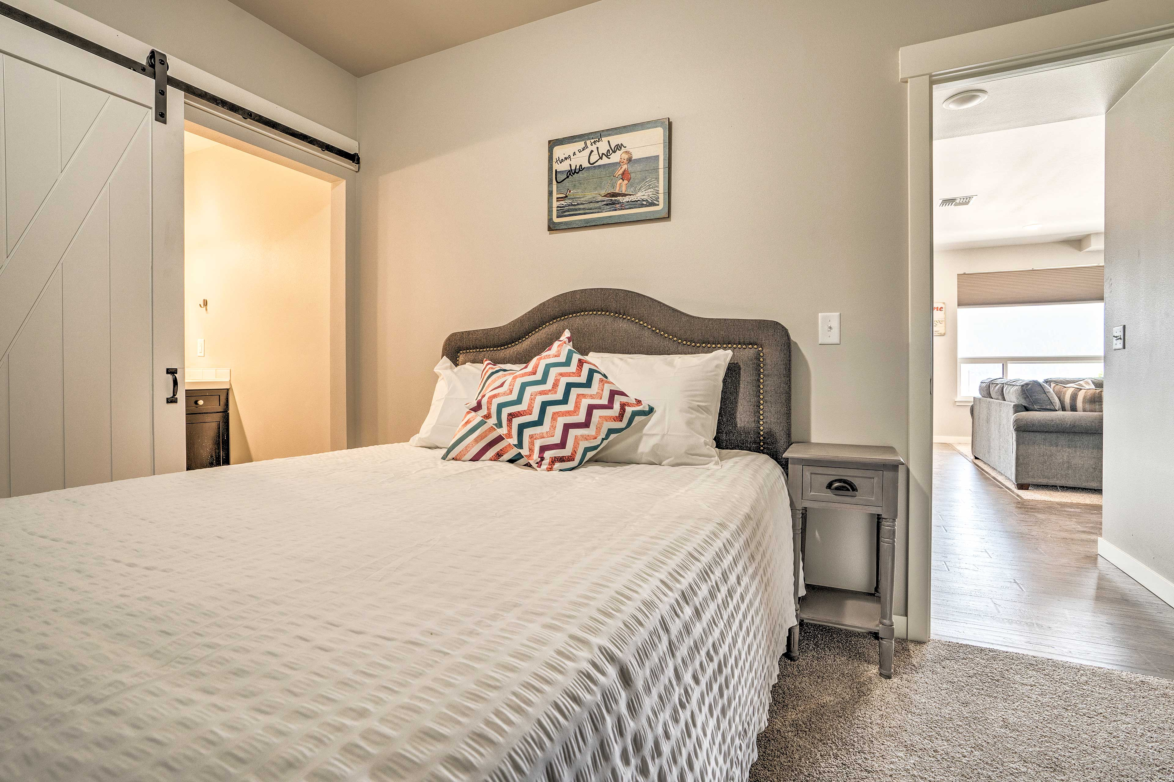 Couples will love sharing this room.