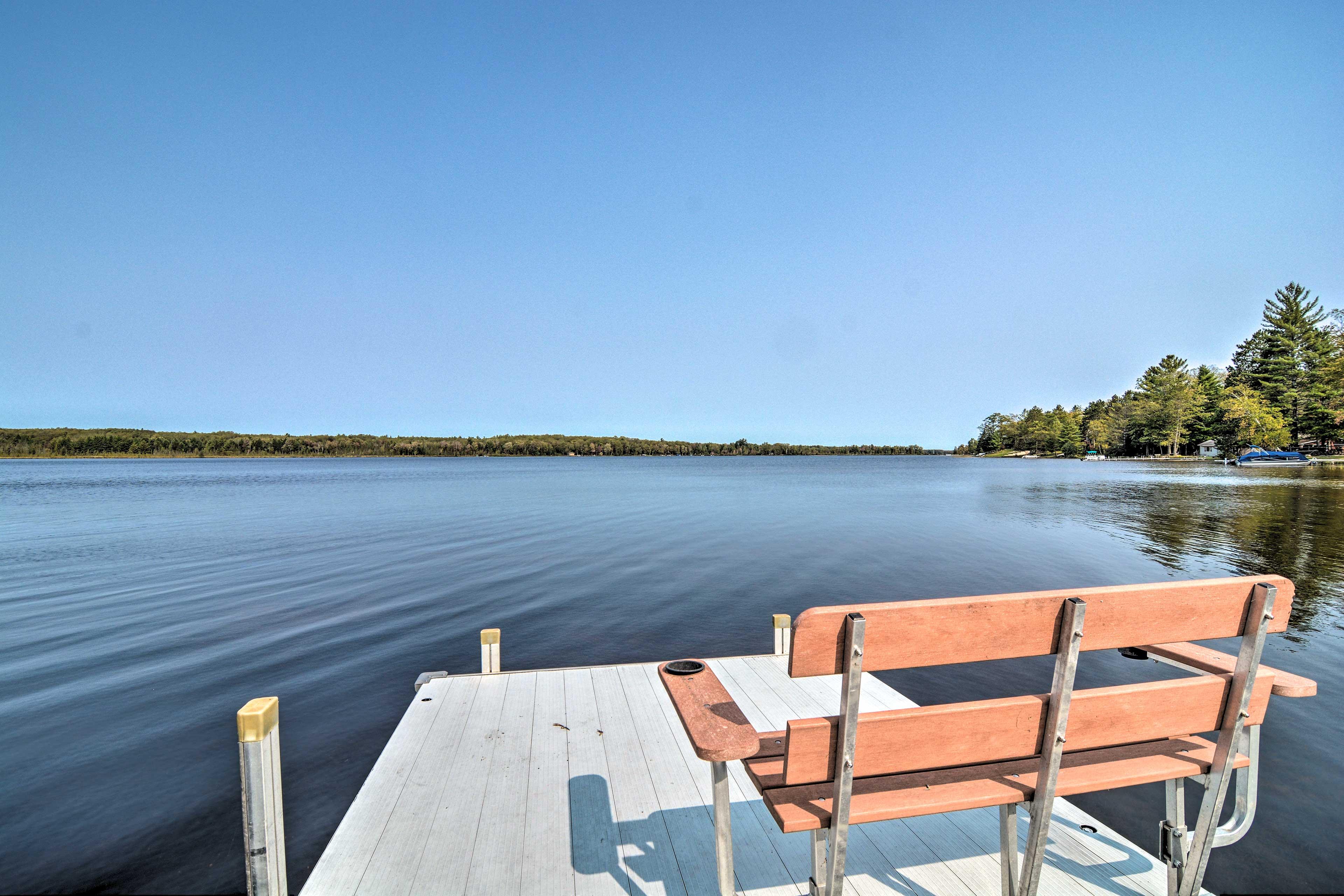 Dock   Rush Lake
