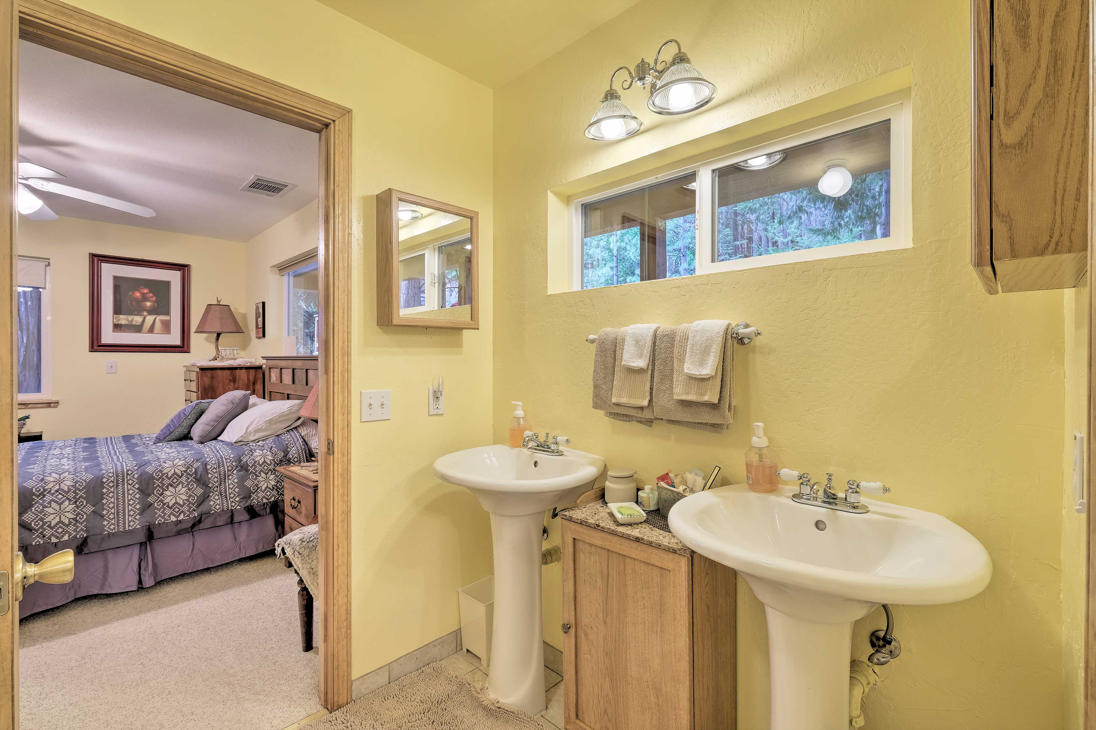 Enjoy the convenience of attached baths!