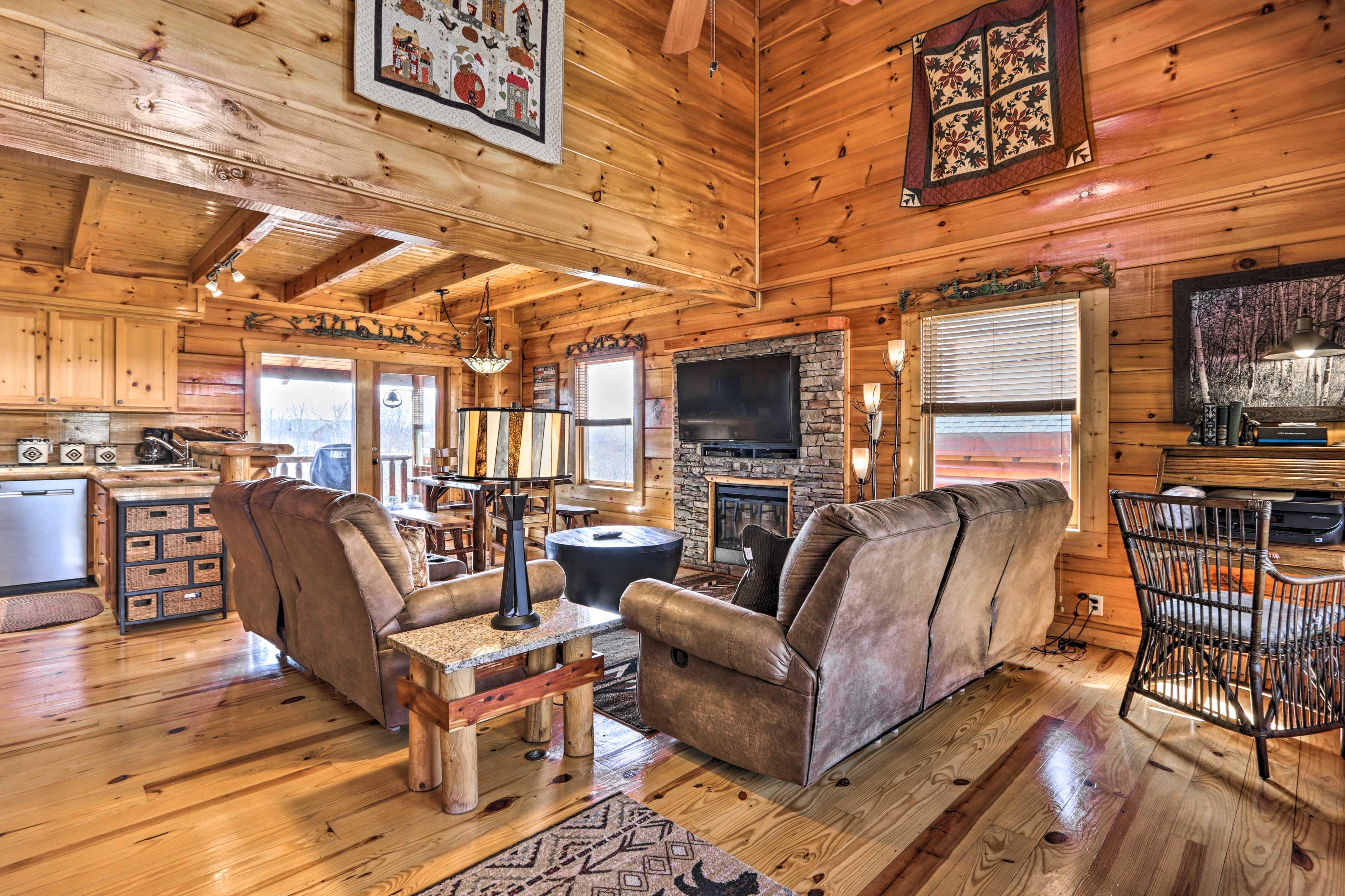 Living Room   New Furnishings