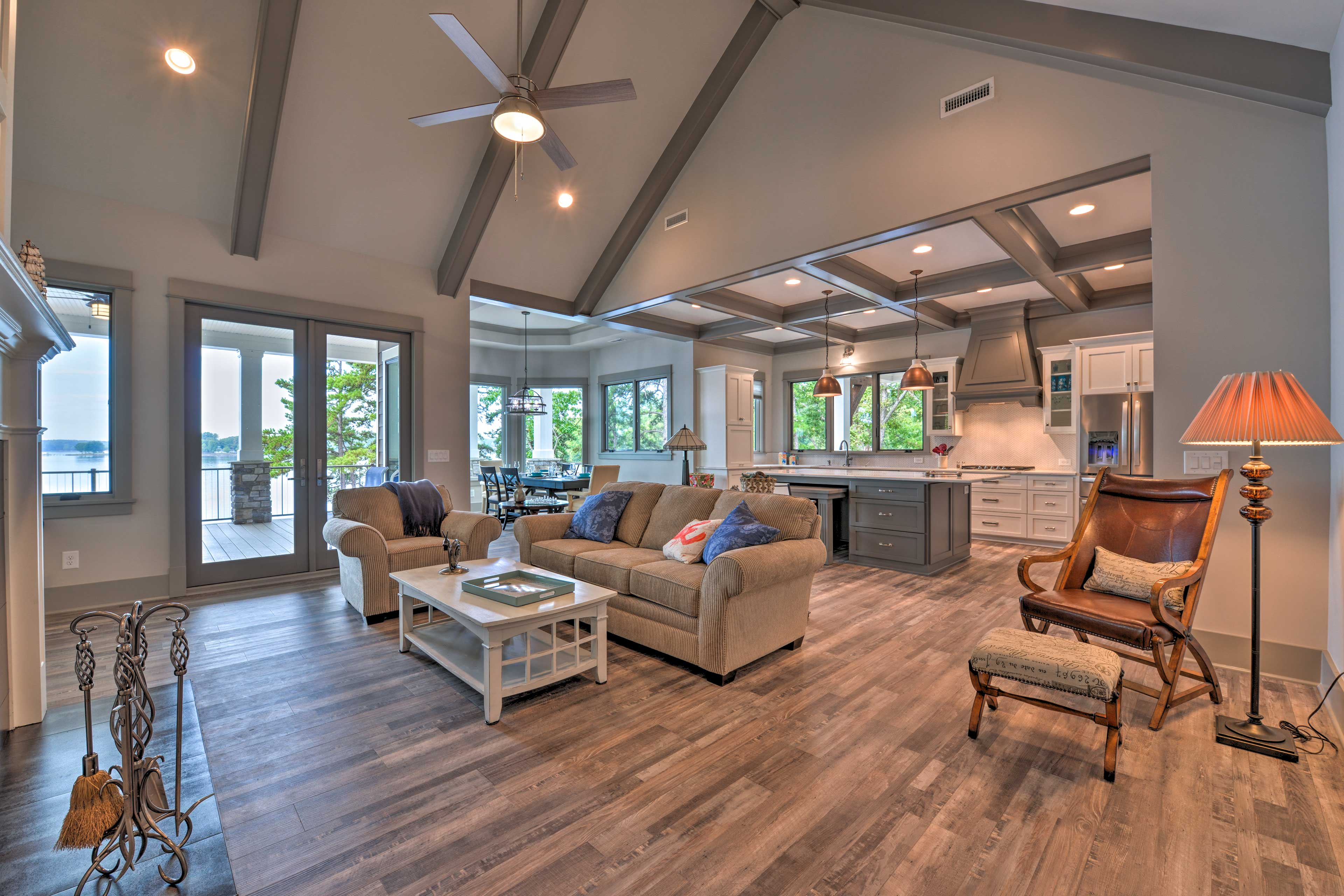 With over 2,500 square feet of space, you'll never run out of places to relax.