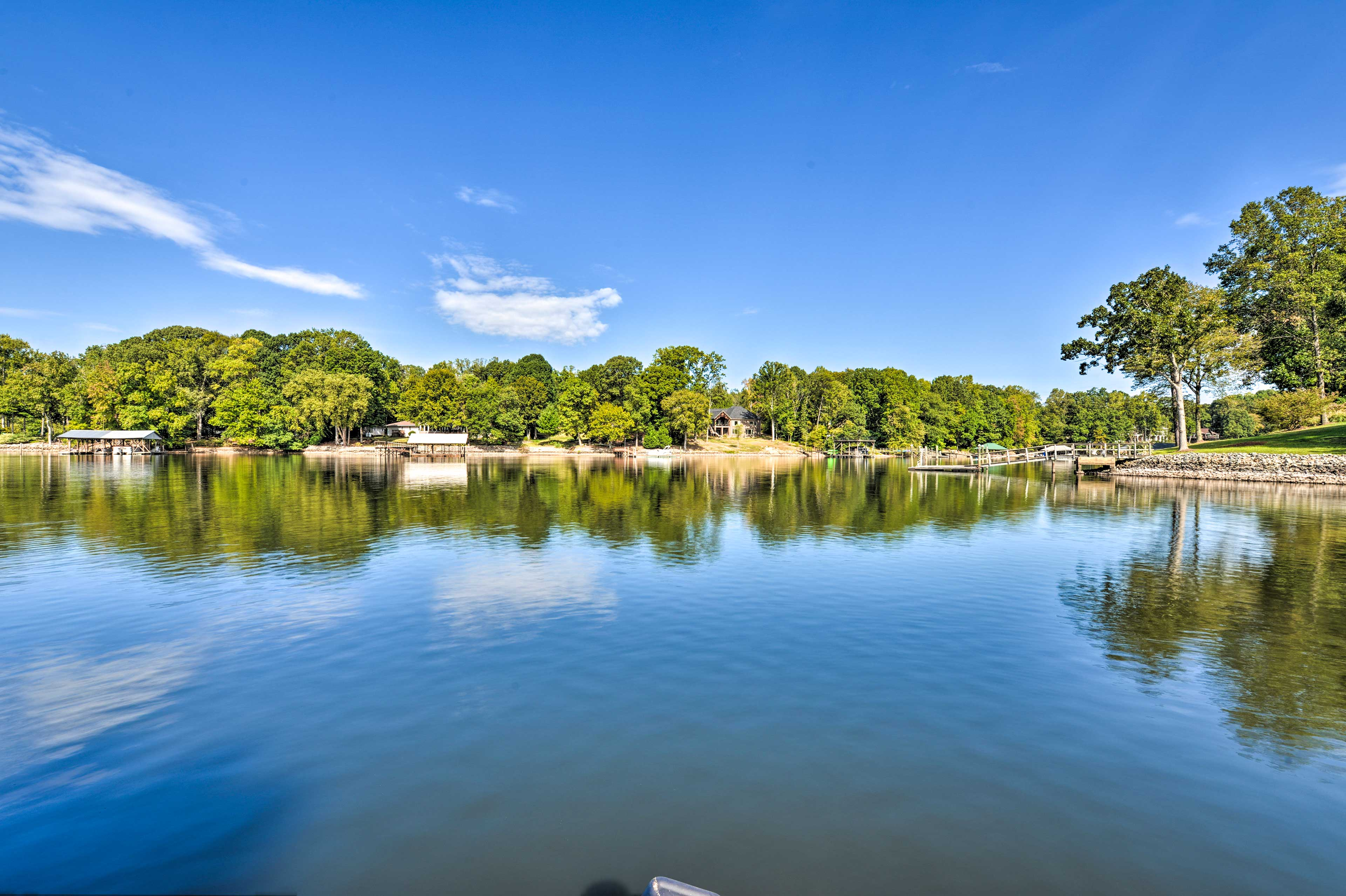 Swimming, fishing, and more await in your backyard!