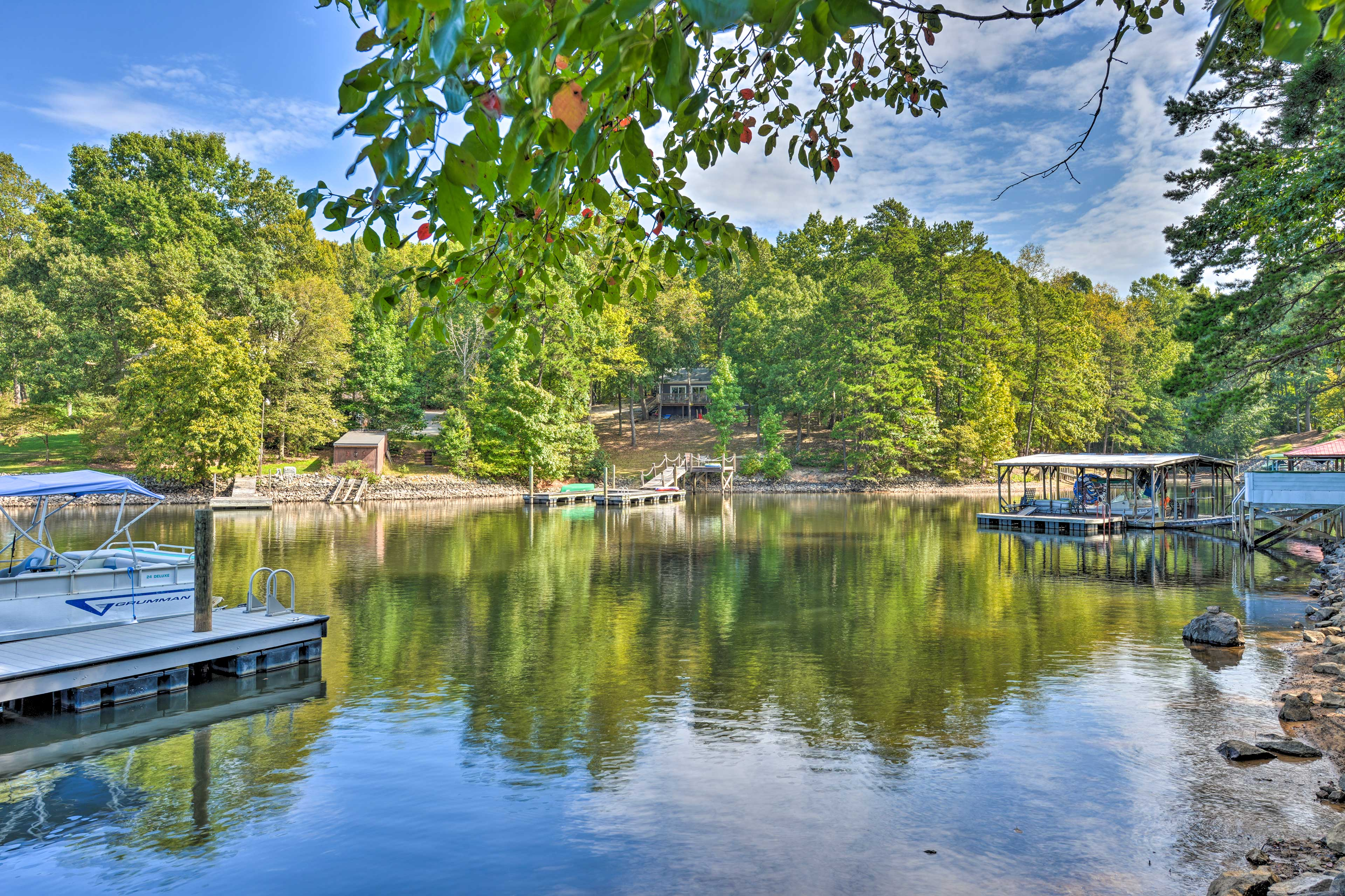 This home has everything you need for your next lakeside getaway!