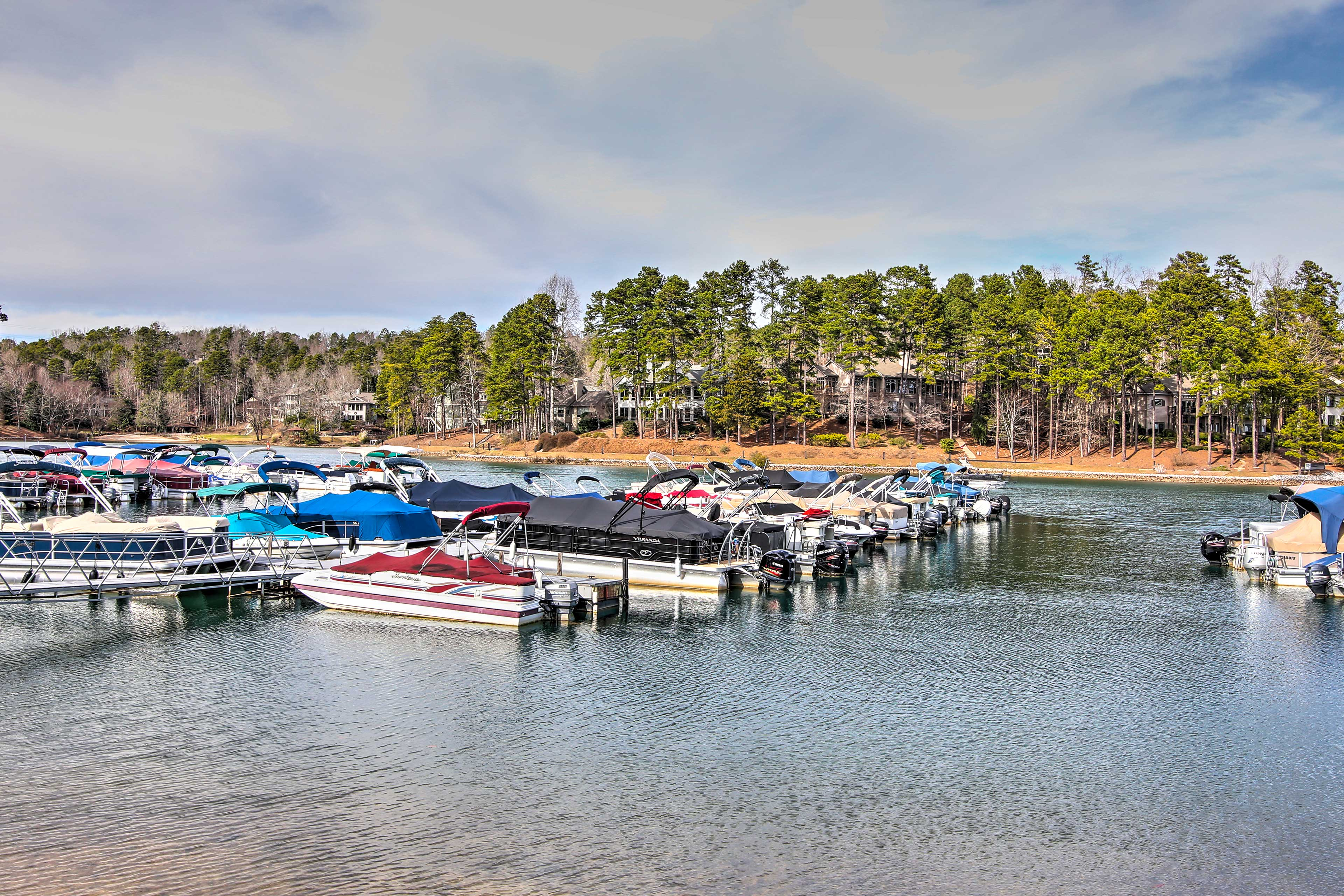 Dock your boat at one of the available rentals!