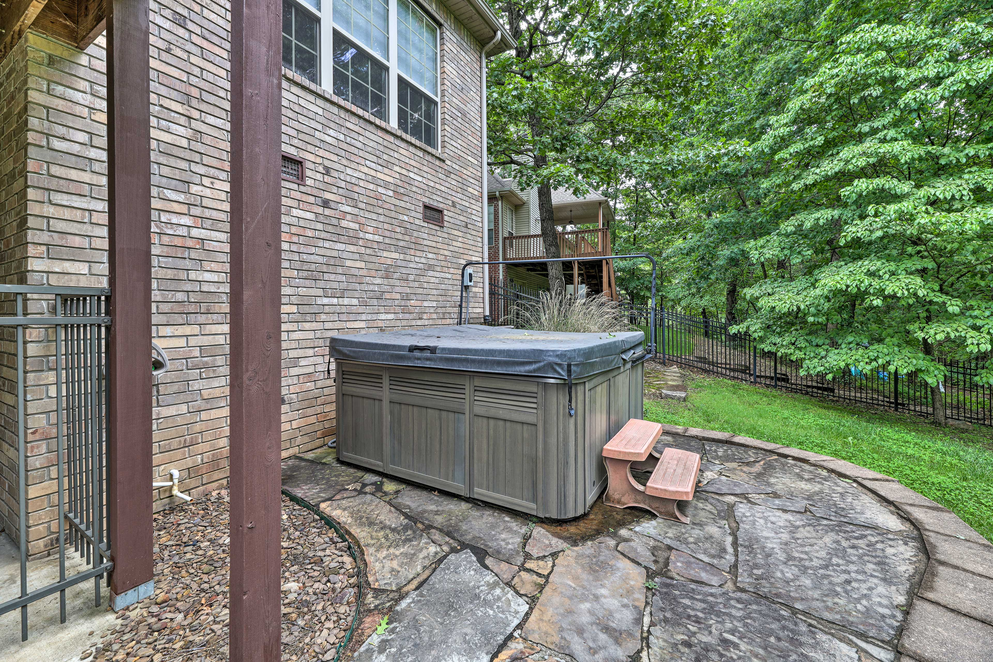 Property Exterior   Hot Tub