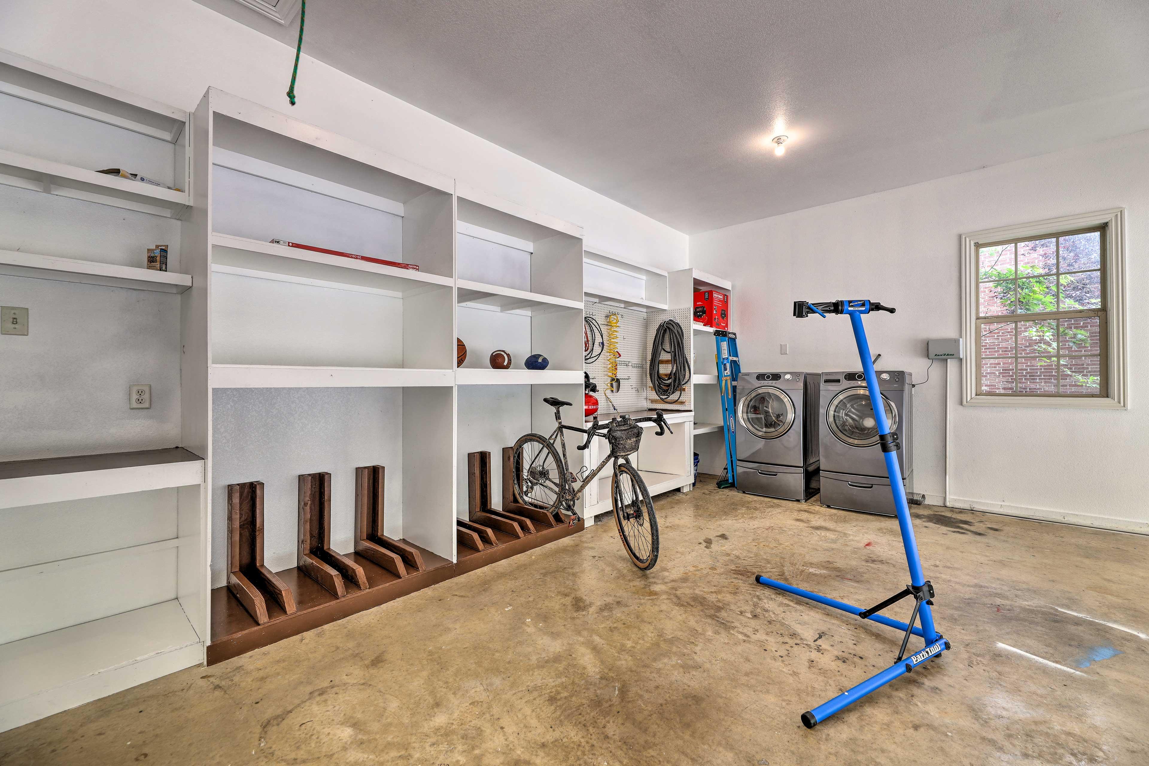 Garage   Air Compressor   Bike Work Stand   Bike Rack