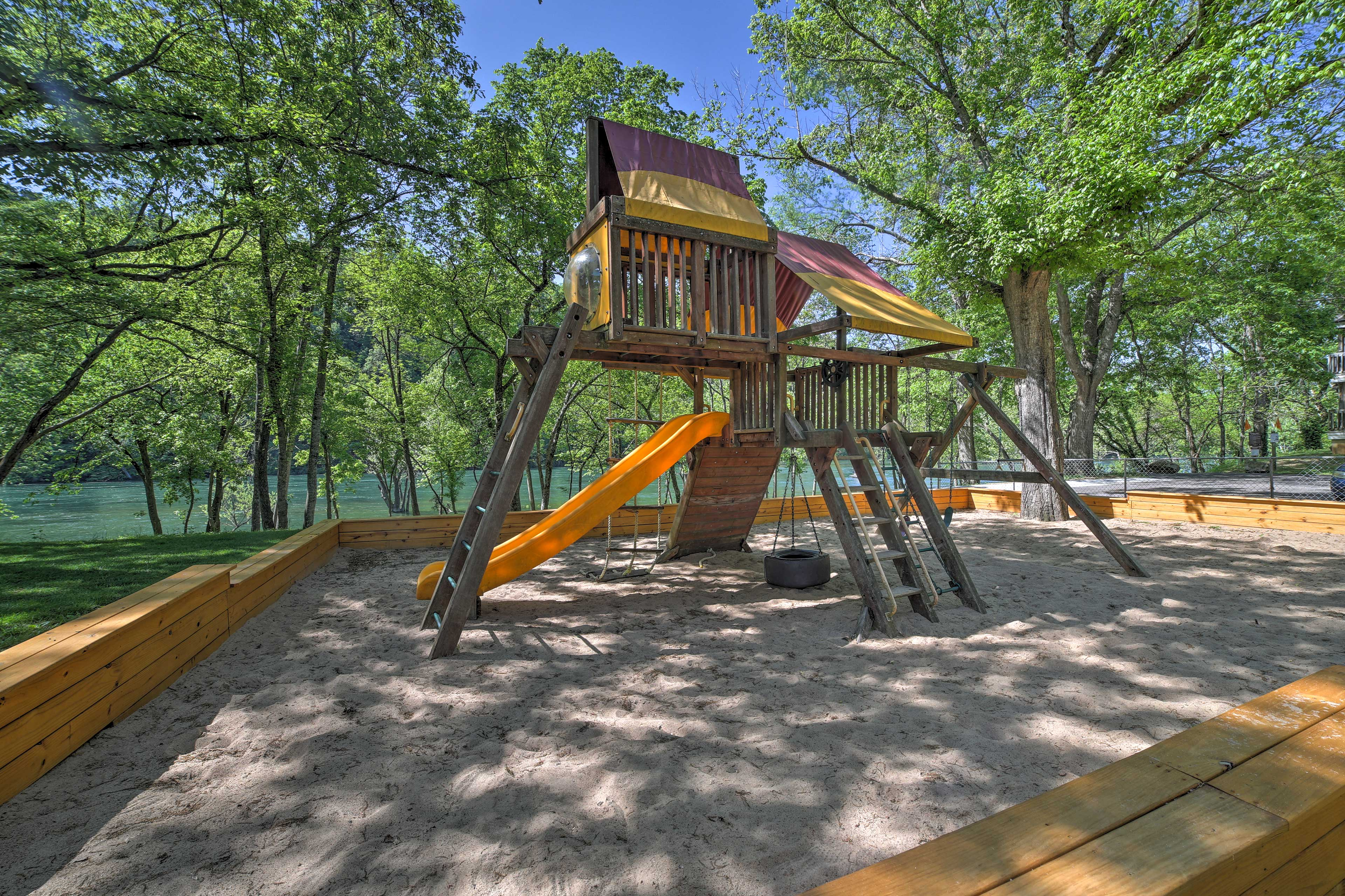 The young and young at heart are sure to love this condo's resort location.
