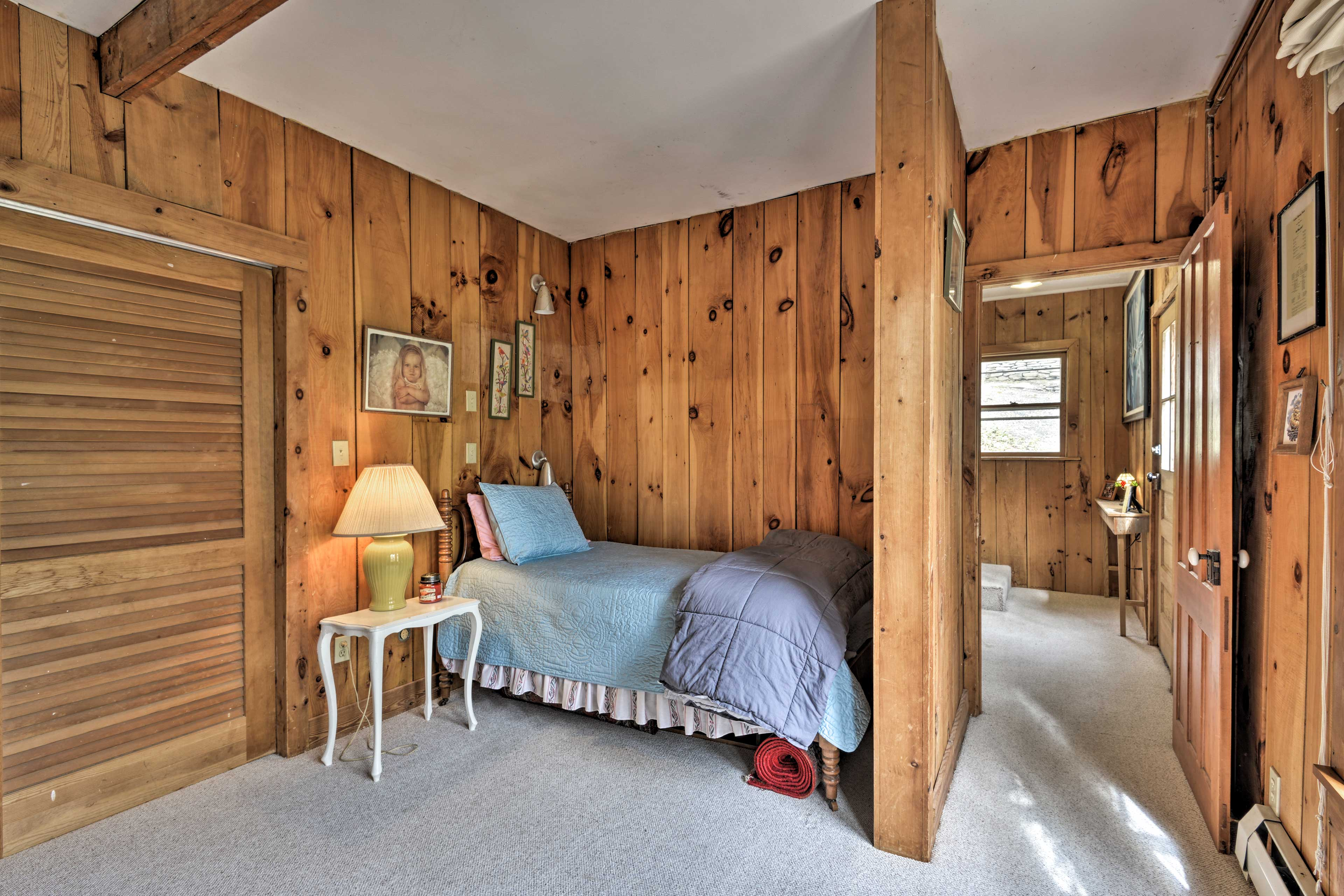 Another of the 3 bedrooms features 2 twin-sized beds.