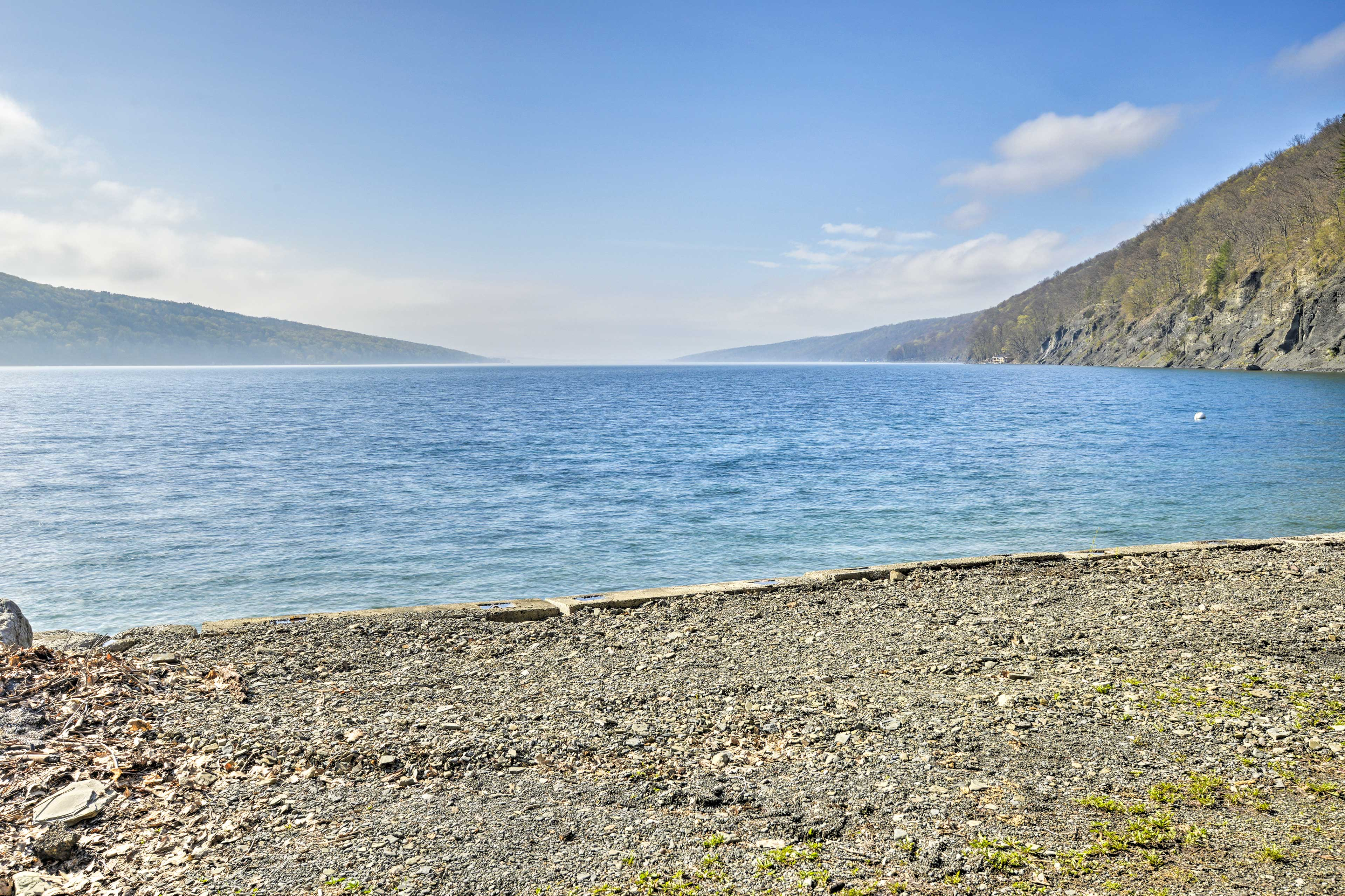 Spread out - you have 200 feet of private beach to enjoy!