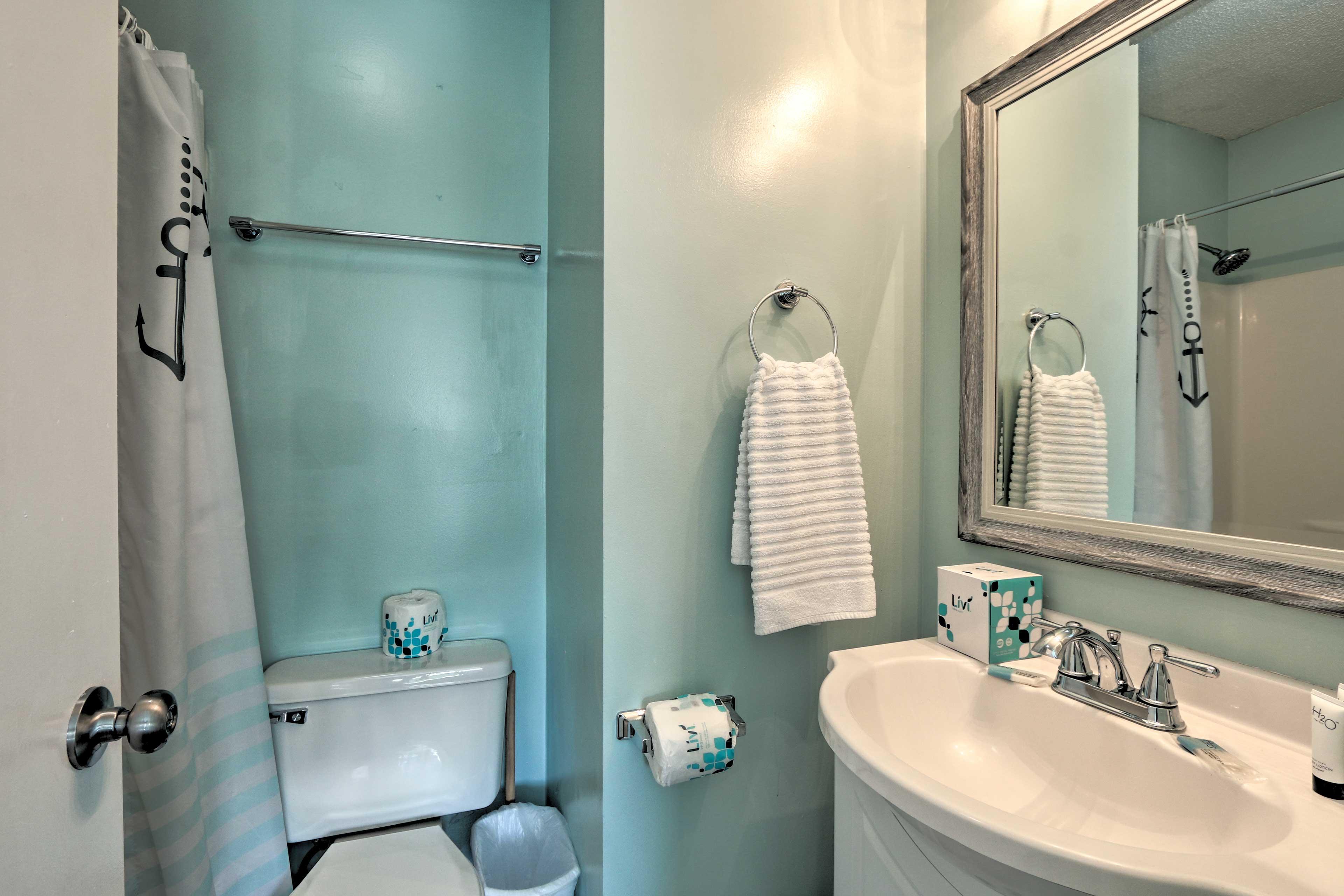 Enjoy the convenience of an en-suite bathroom!