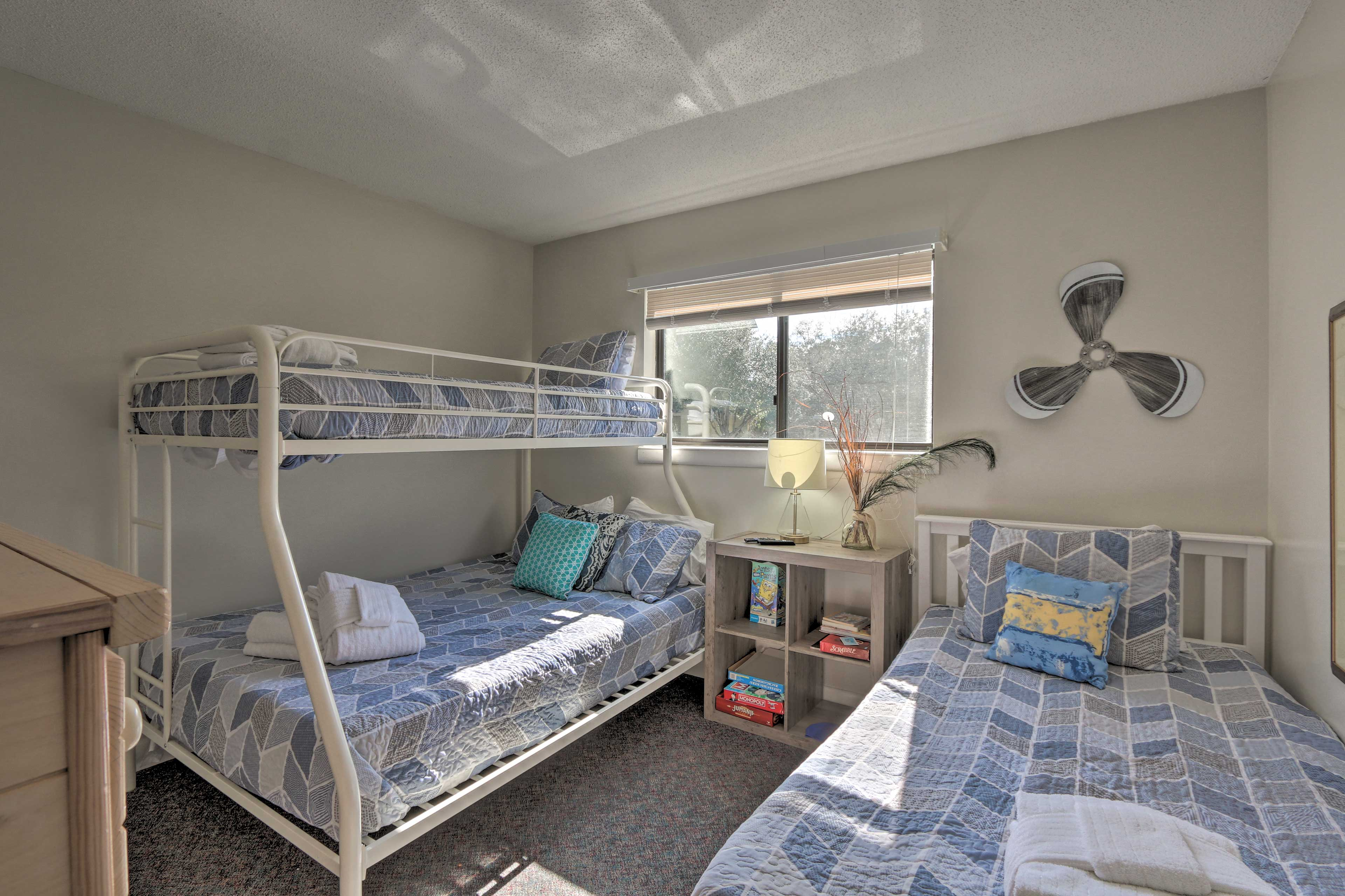 The kids can claim this room.