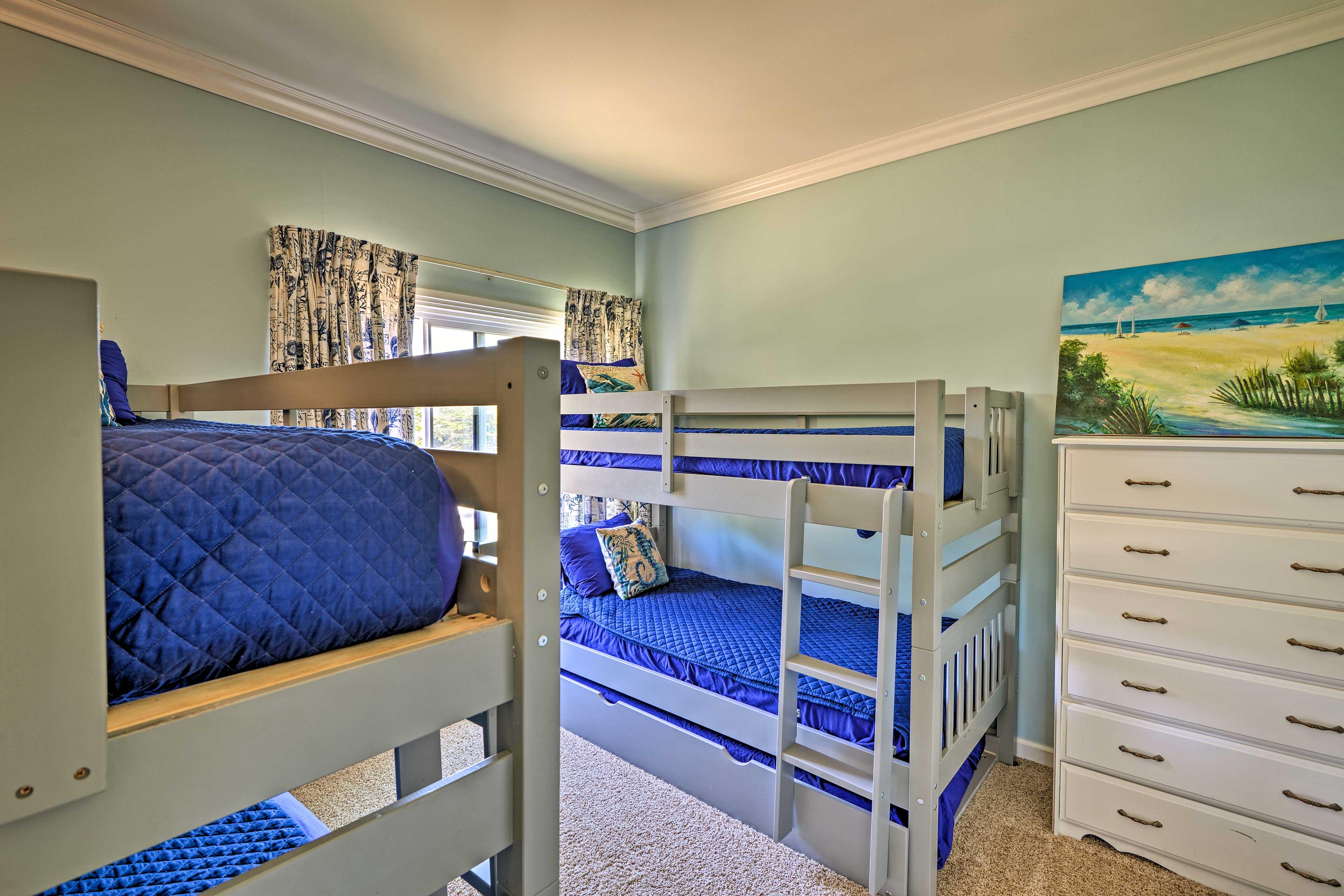 Bedroom 2 | 2 Twin Bunk Beds