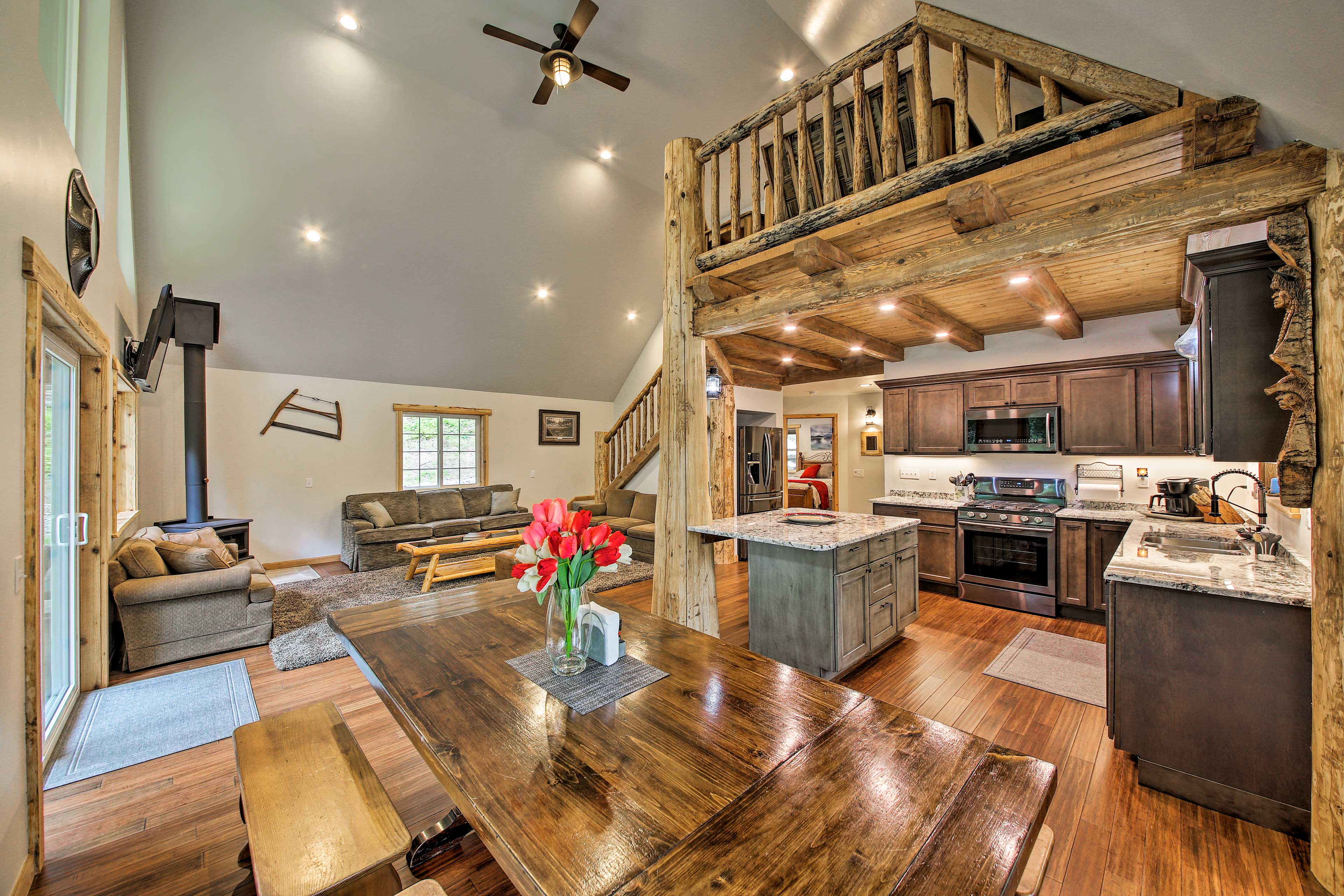 Up to 9 lucky vacationers can unwind in this 3-bedroom, 2-bath home!