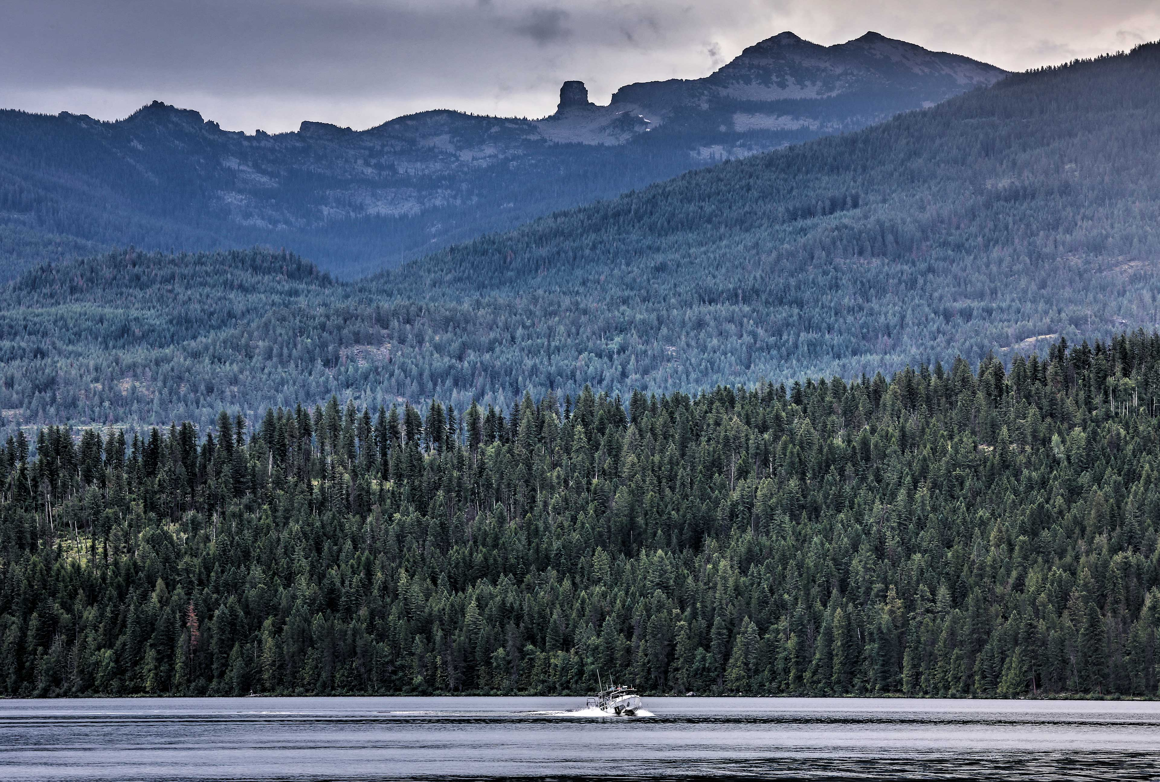 Priest Lake is known as the Crown Jewel of Idaho.