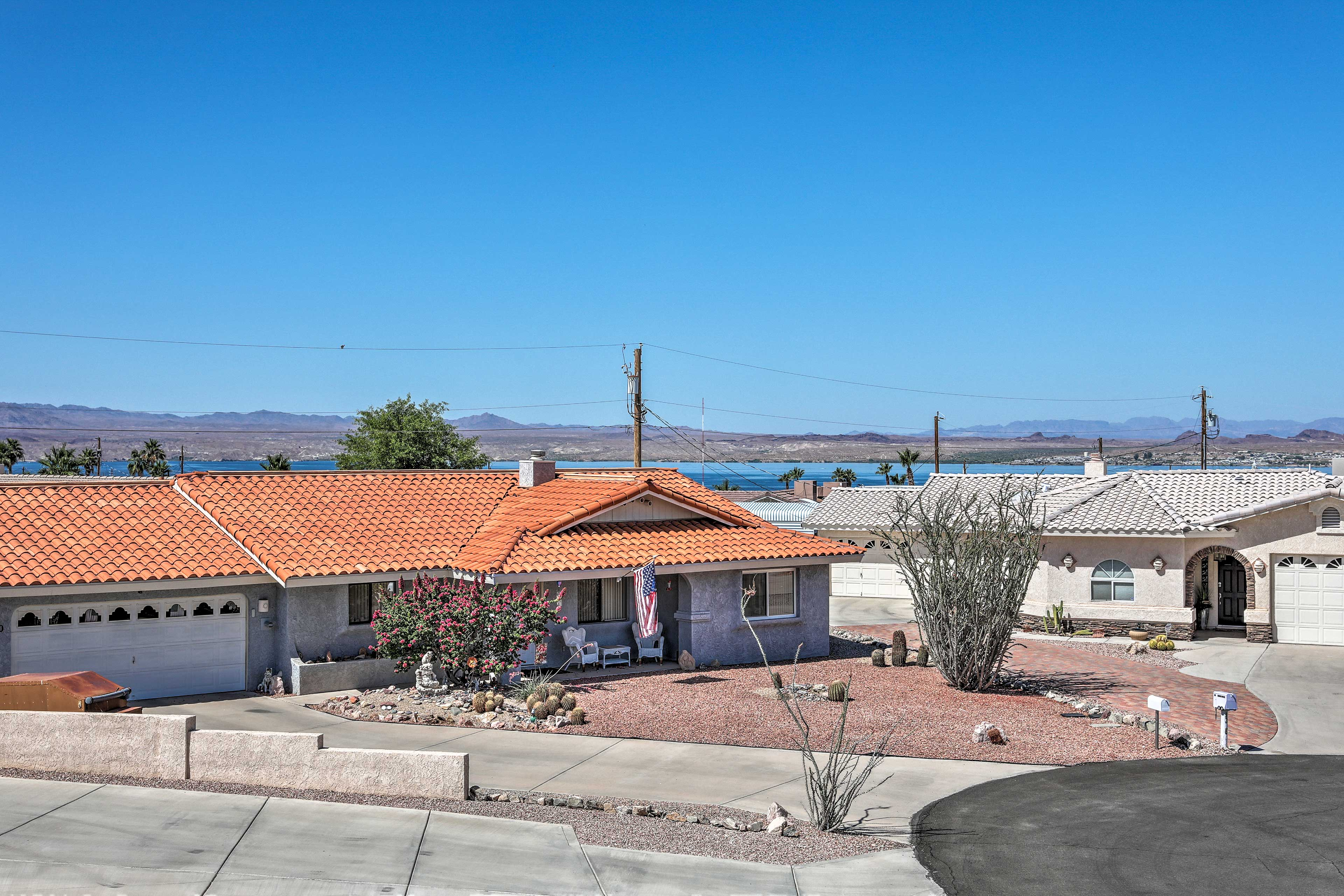 You'll be able to see Lake Havasu from here!