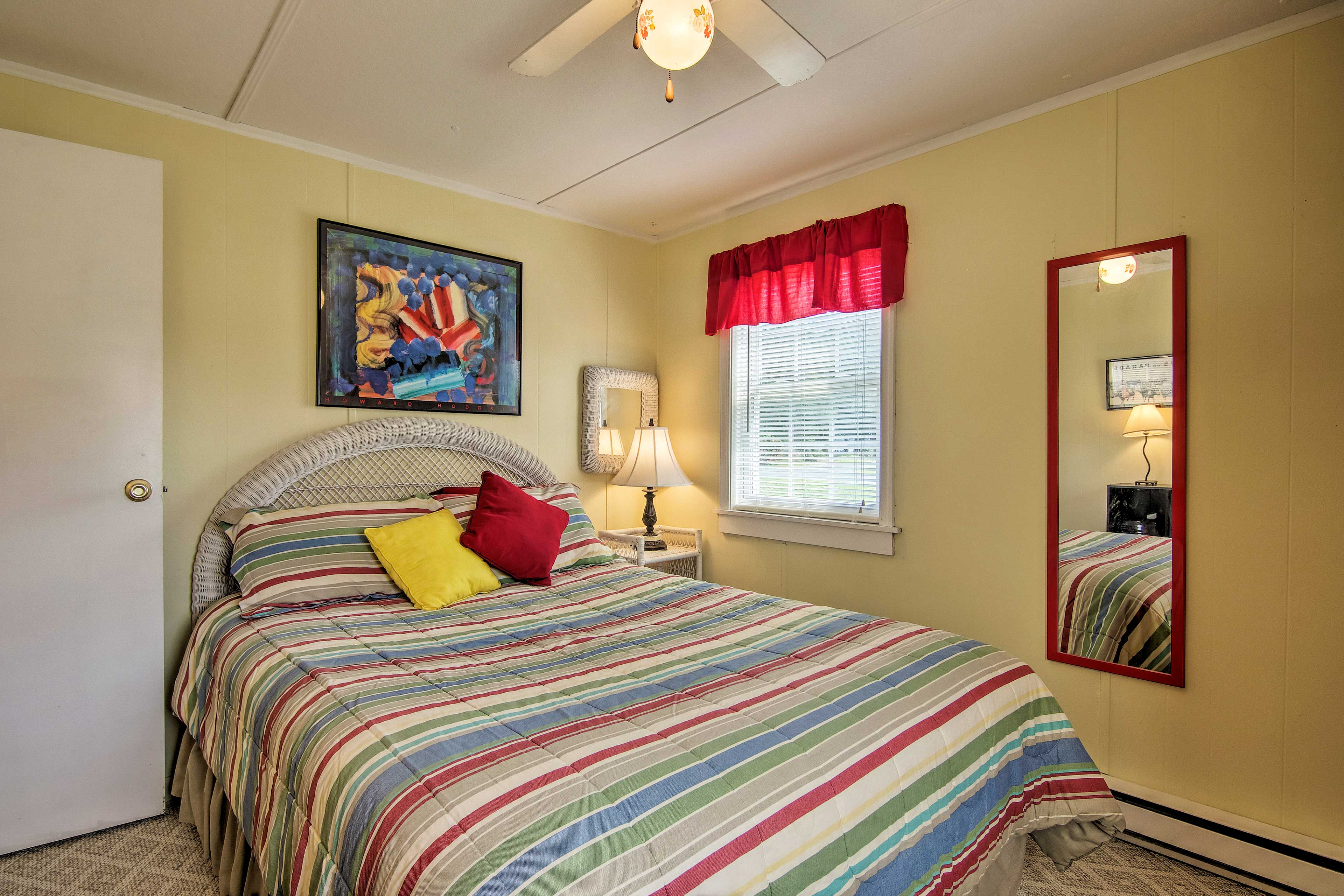 This room now offers a twin bed.