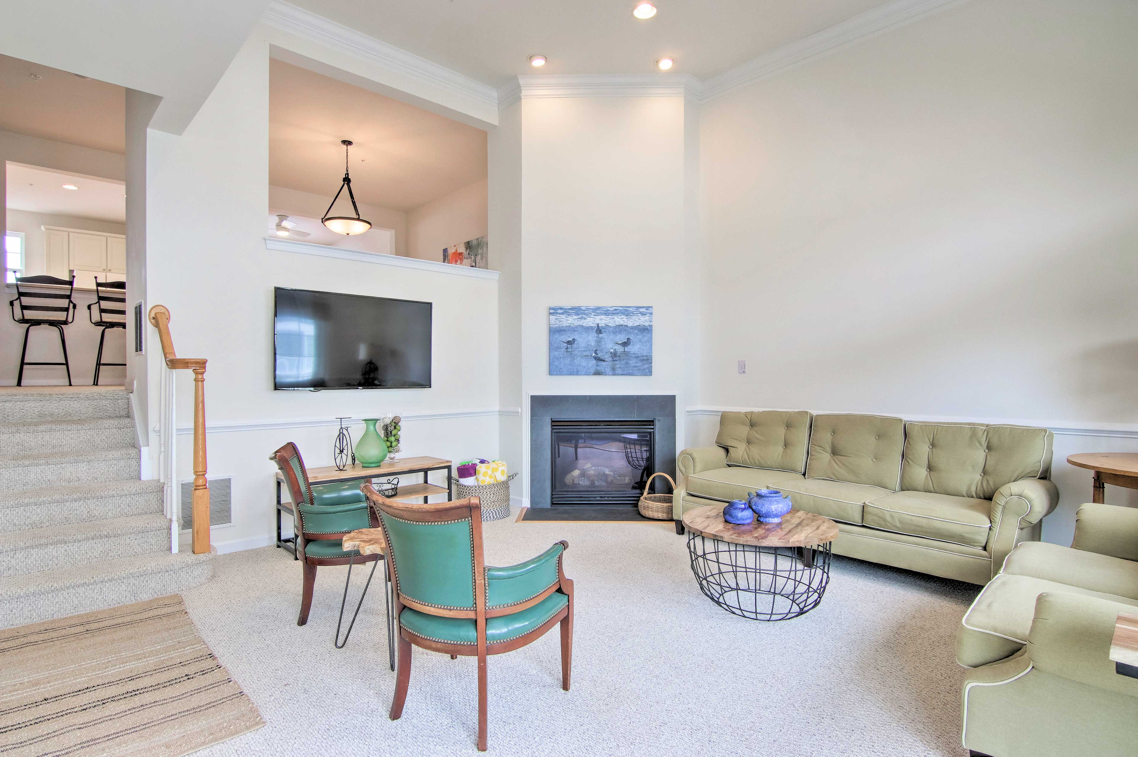 Cool off in the vacation rental's well-appointed interior!