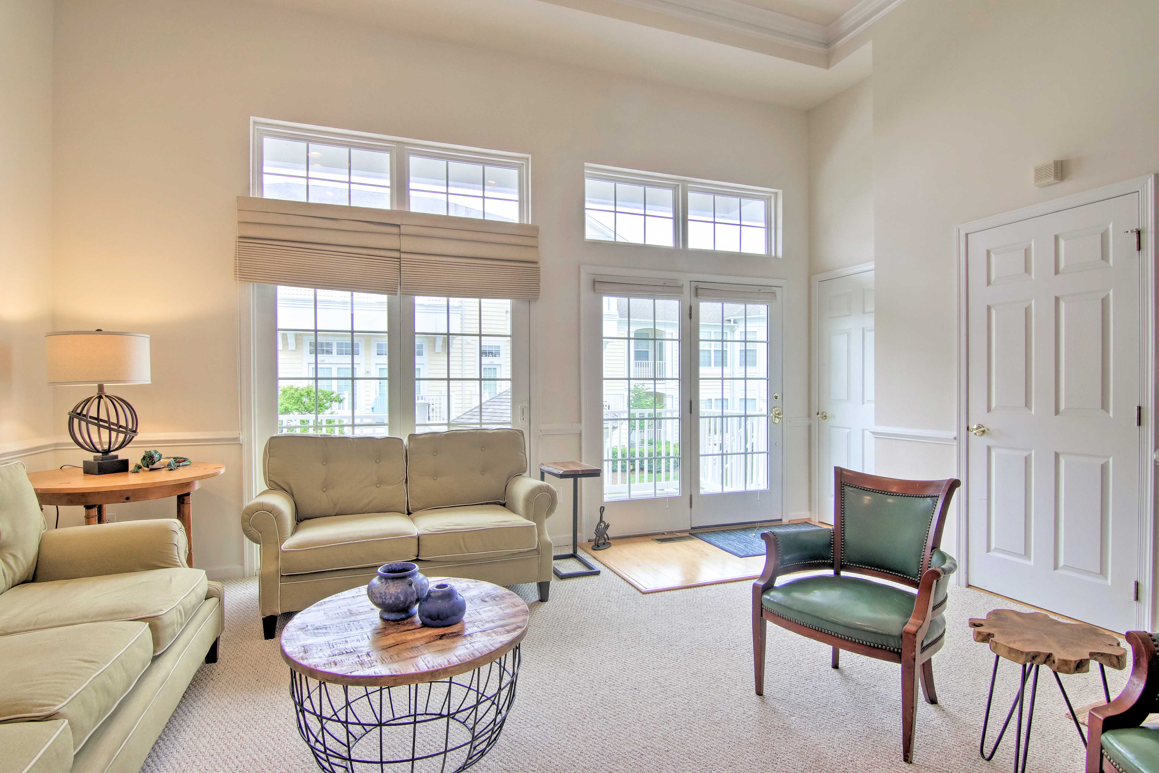 Natural light creates a light and airy space that everyone is sure to love.