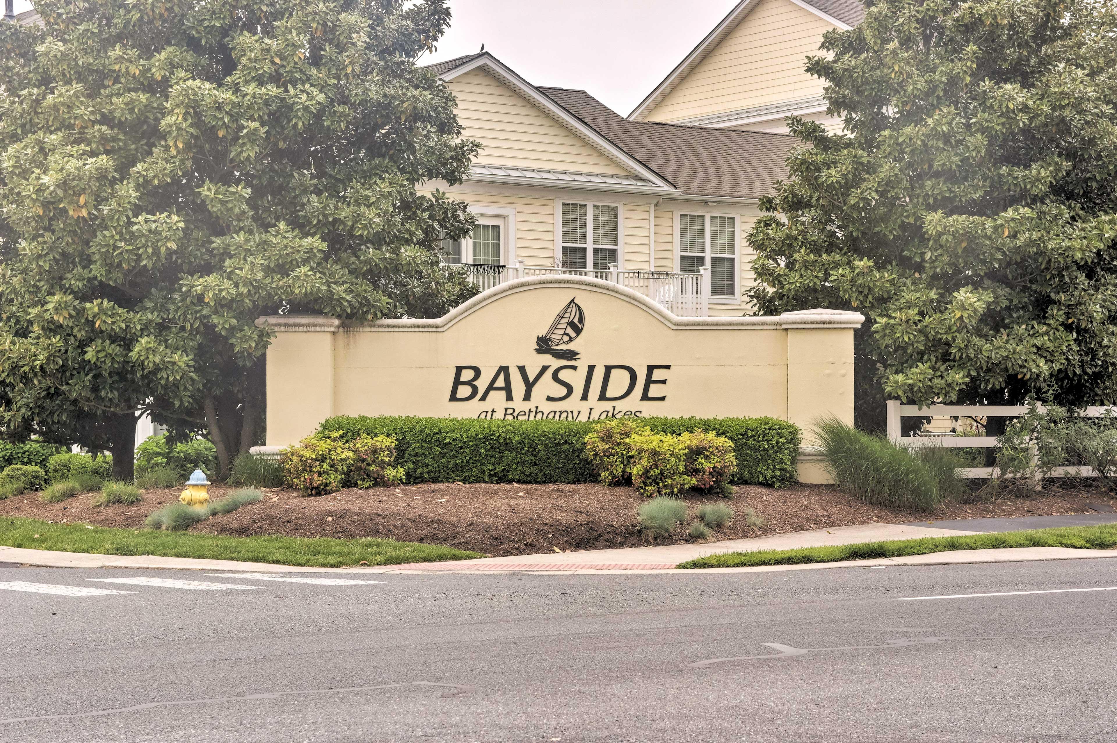 Plan your Bayside at Bethany Lakes getaway!