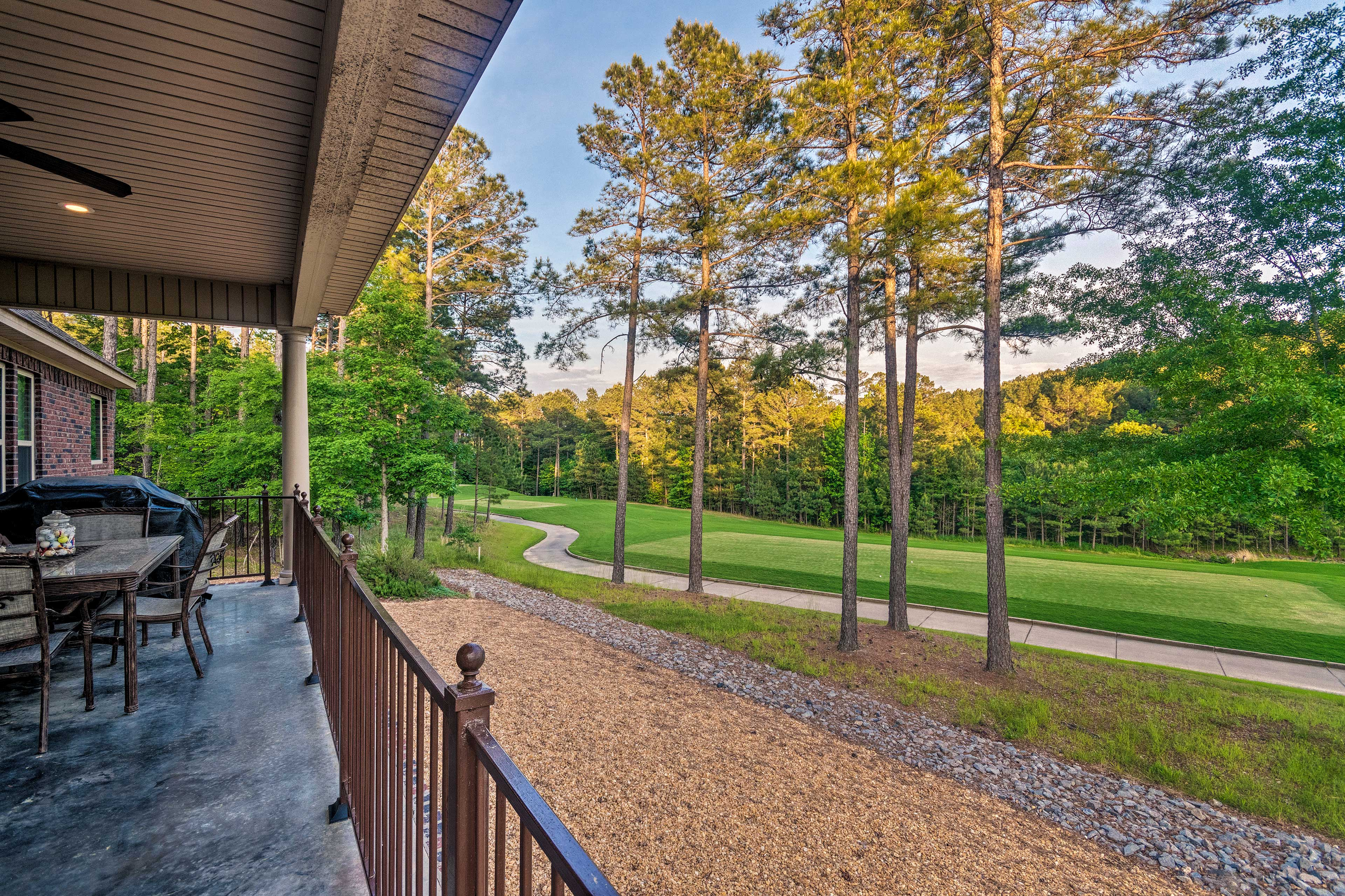 Located on a golf course in Hot Springs, this home can't be beat!
