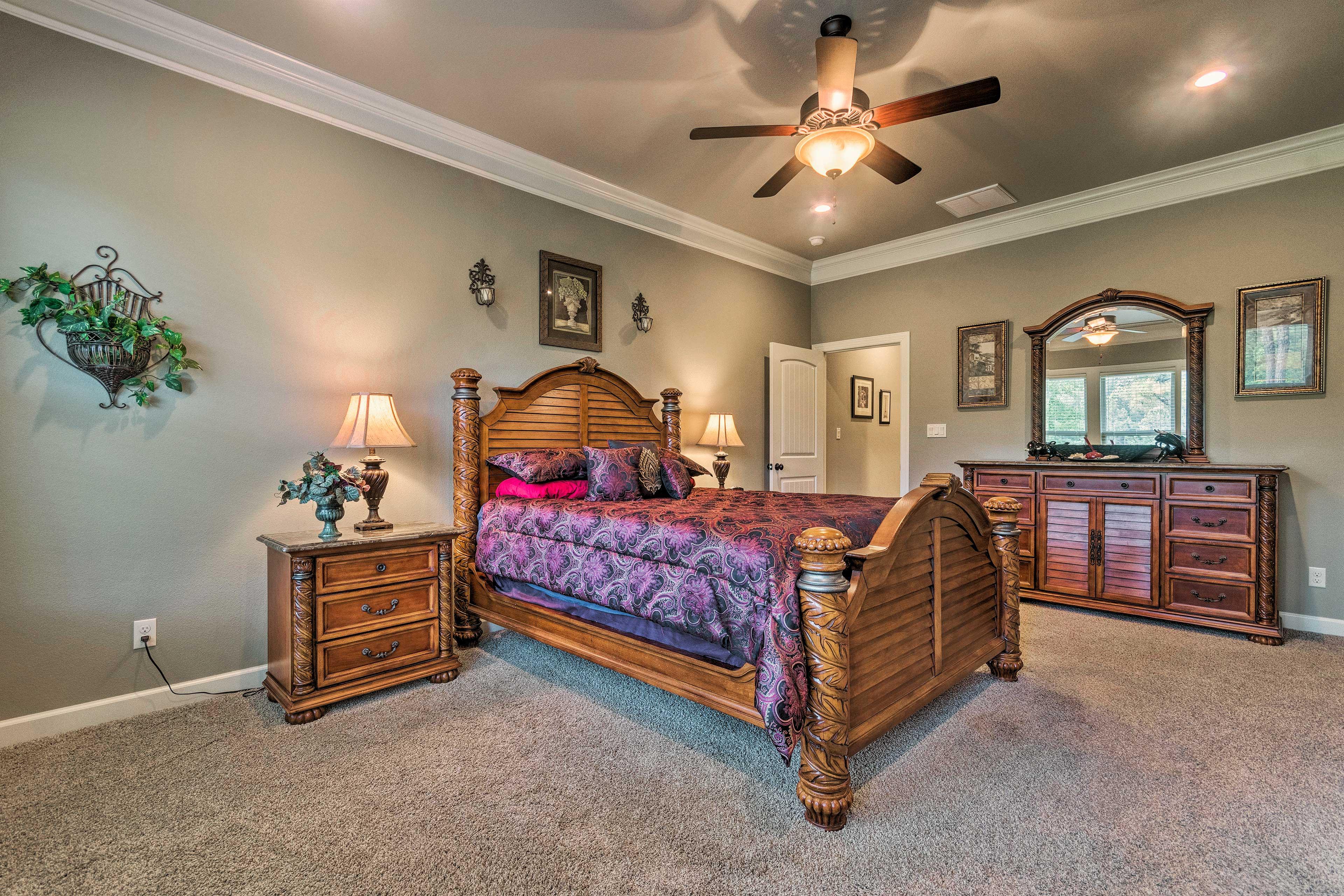 This room sleeps 2!