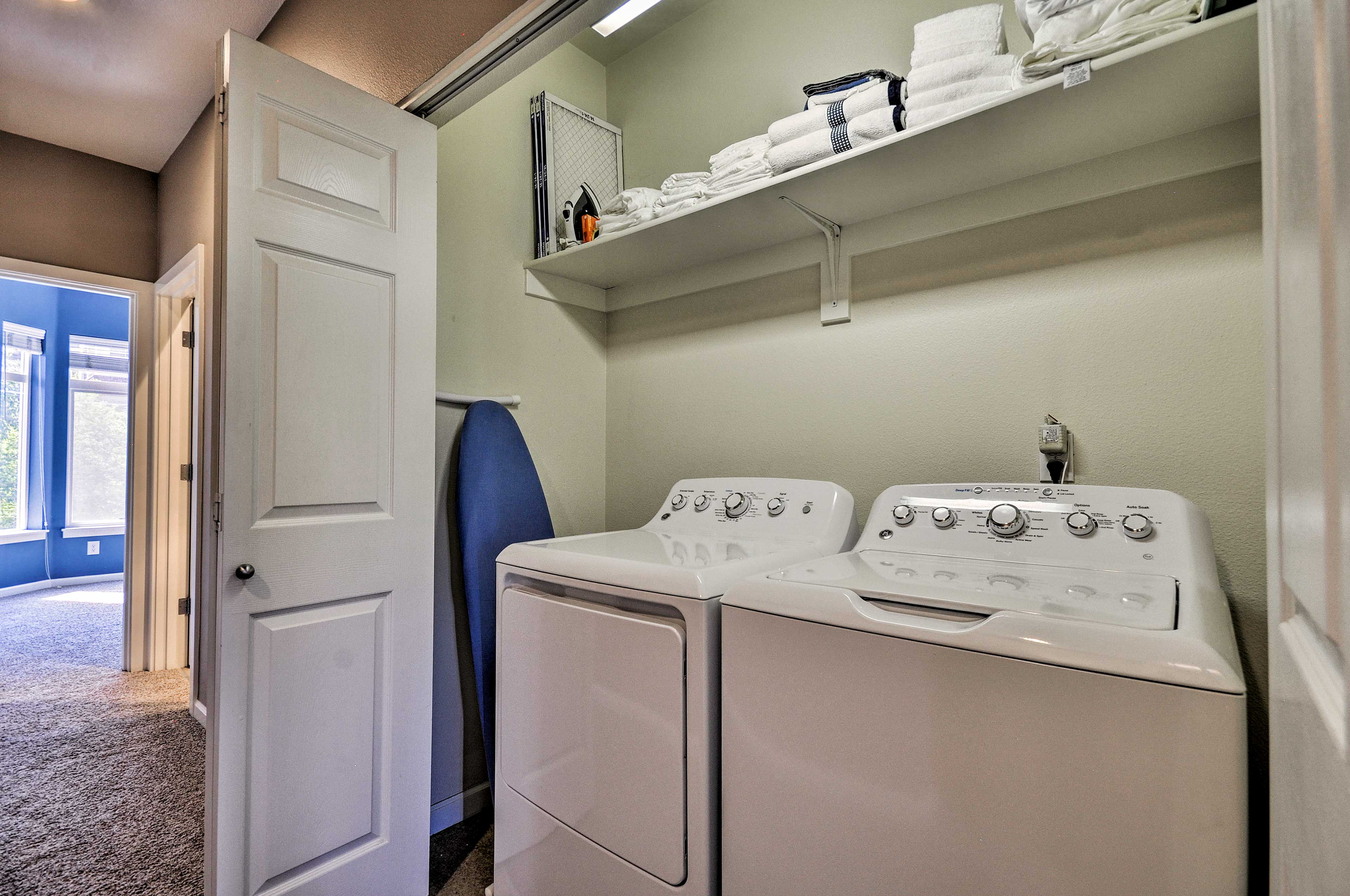 With on-site laundry facilities, you can keep your wardrobe fresh.