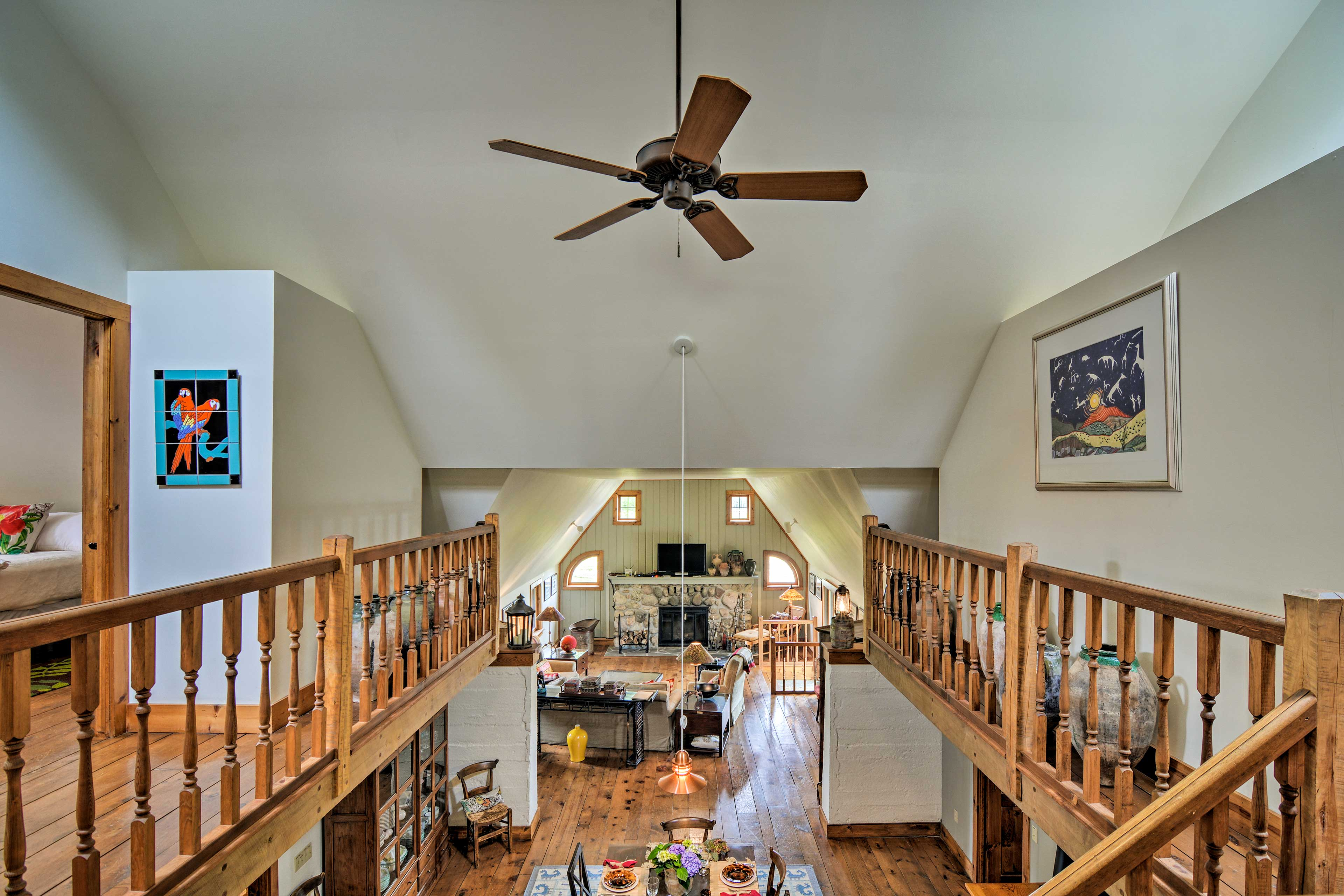 Once a potato storage barn, this home has been fully remodeled.