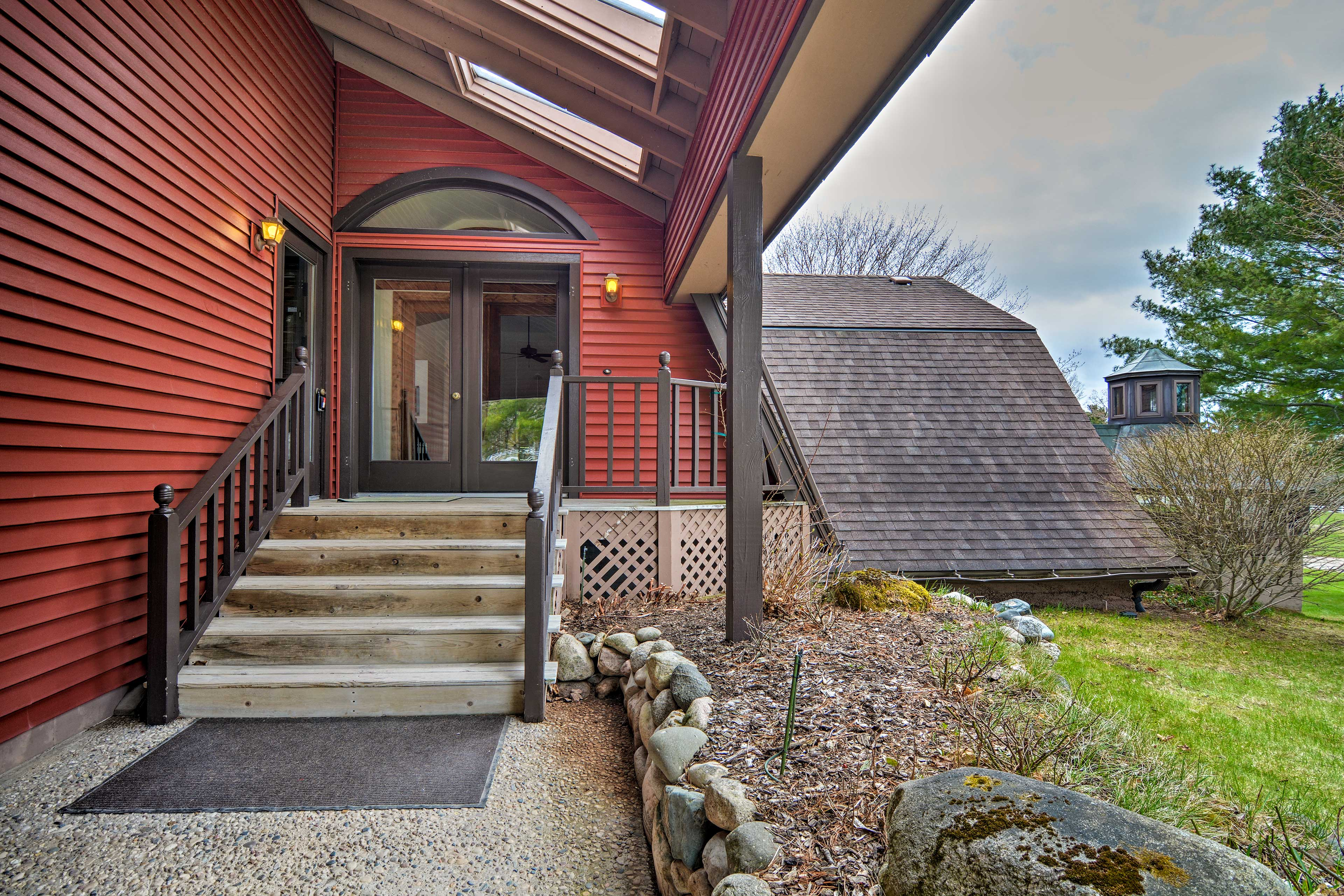 You will never be far from the area's attractions in this home.