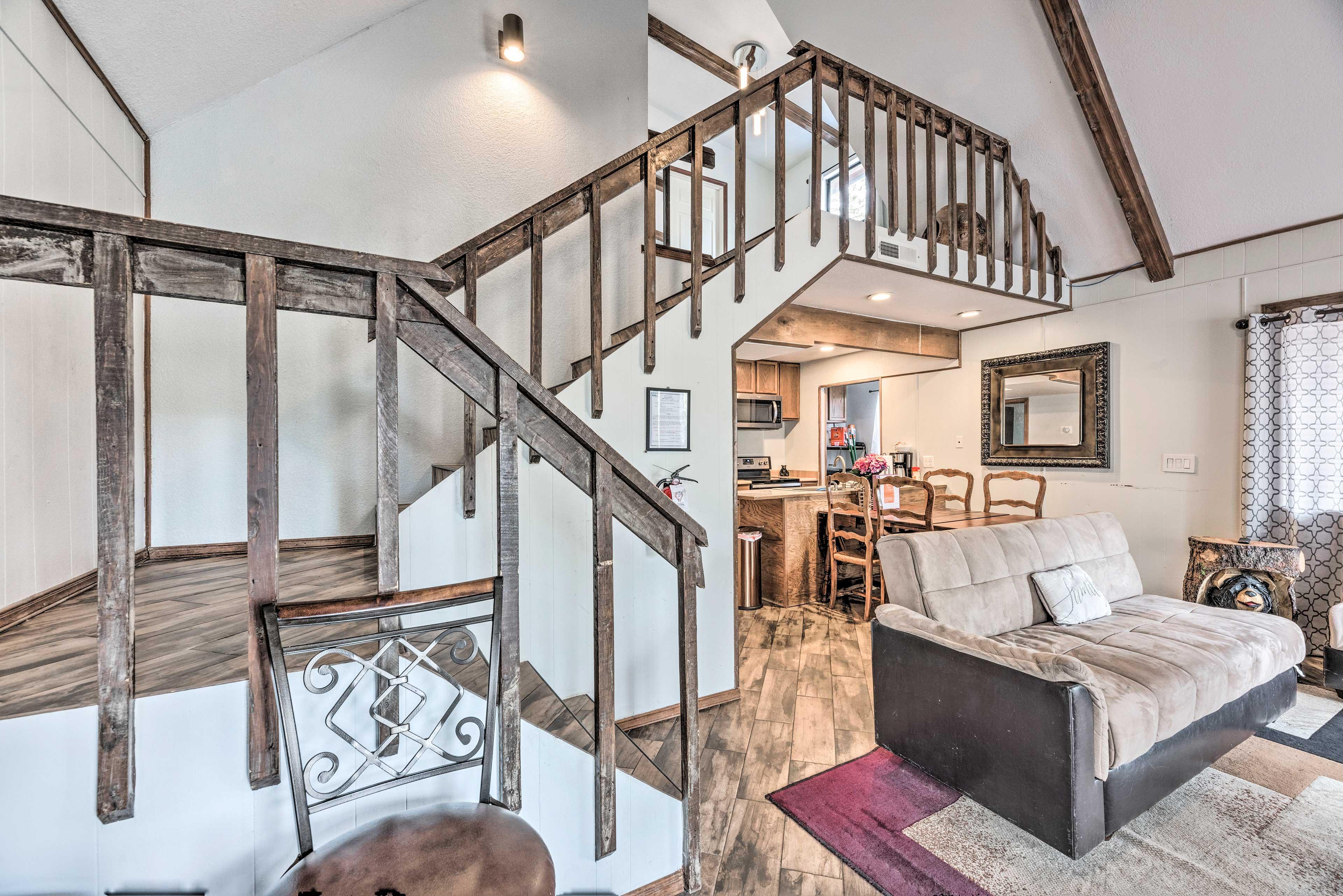 Living Room | Loft Access