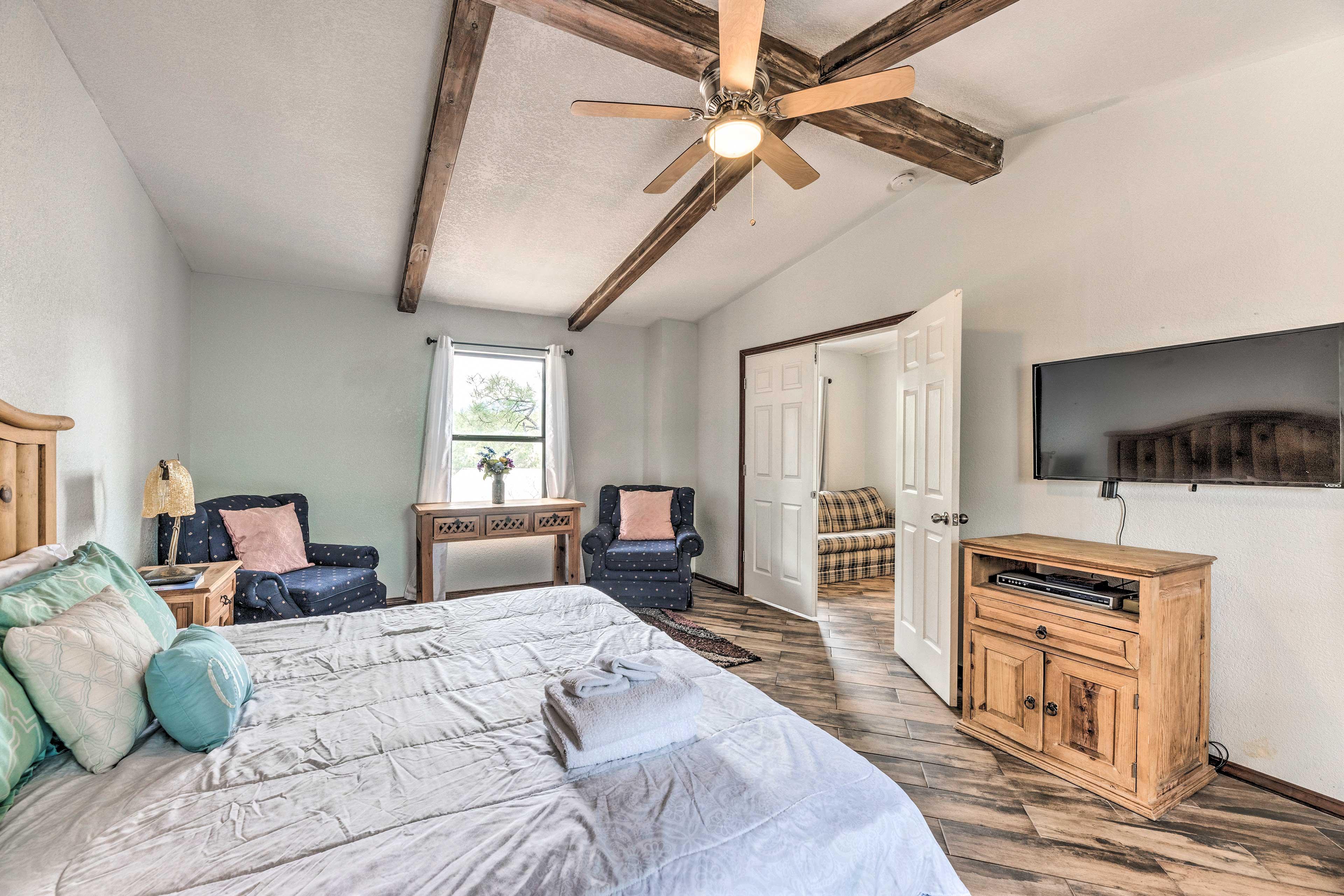 Bedroom 3 | Smart TV