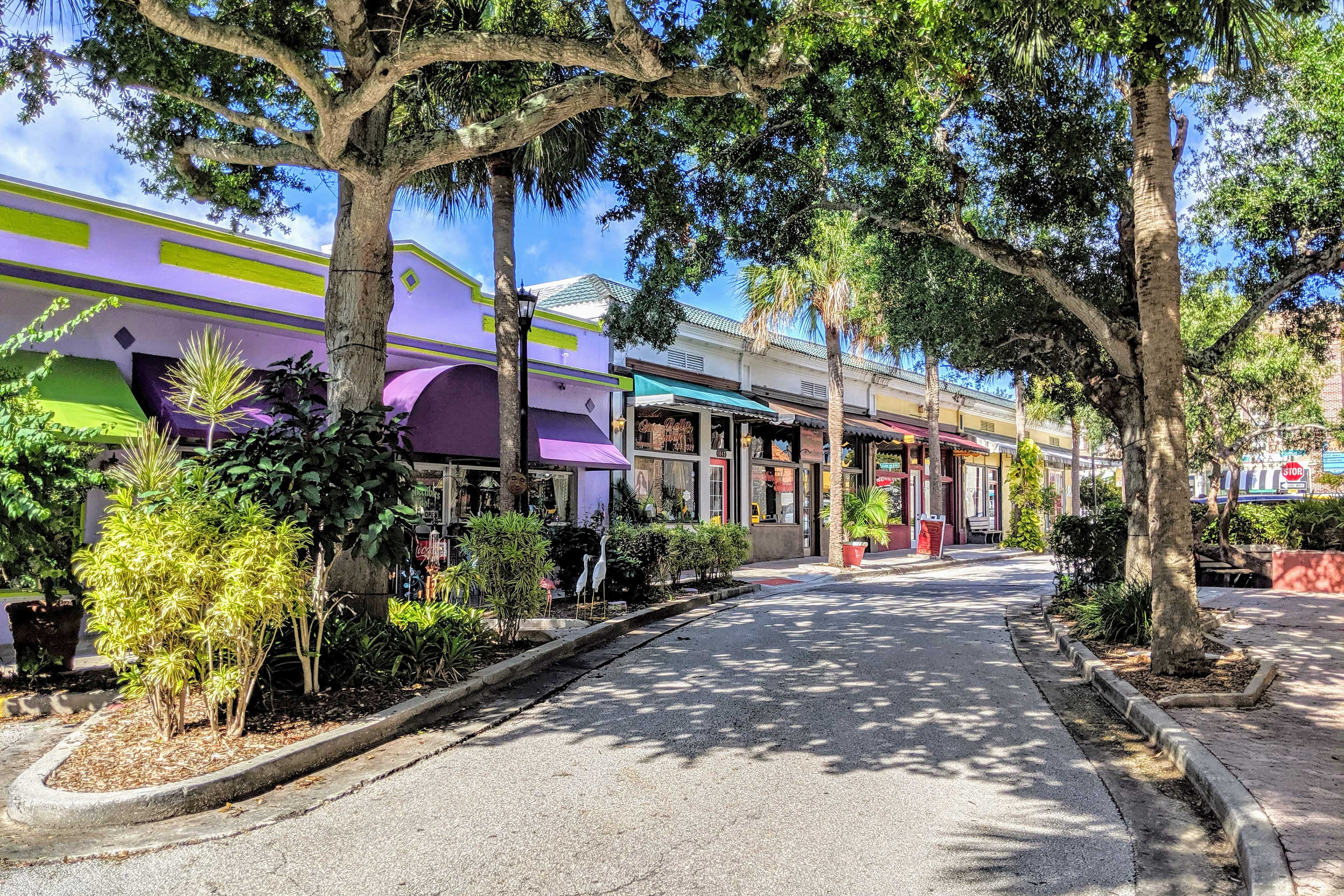 Peruse the Cocoa Village shops and restaurants!