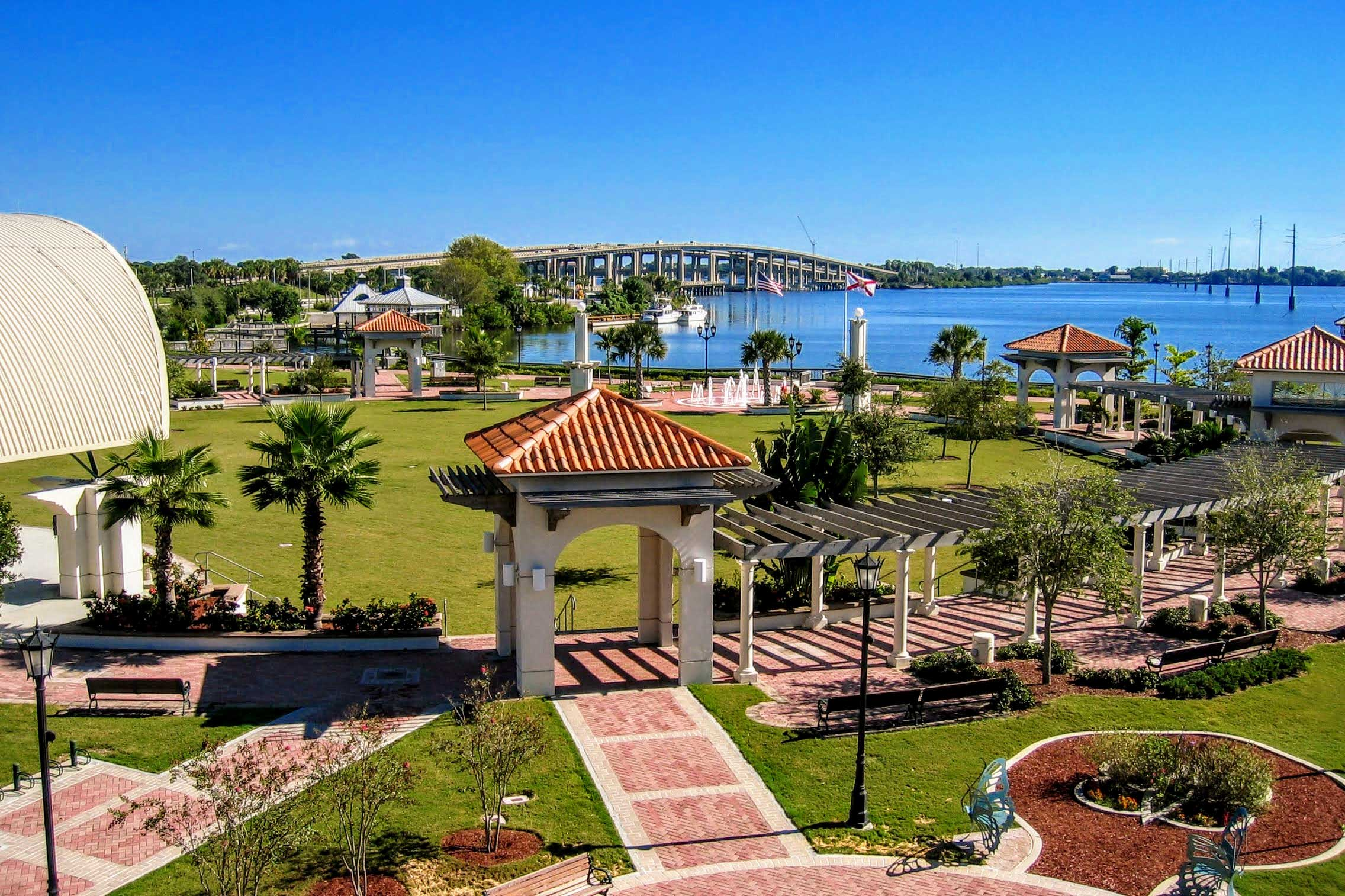 Head over to Riverfront Park in Cocoa Village.