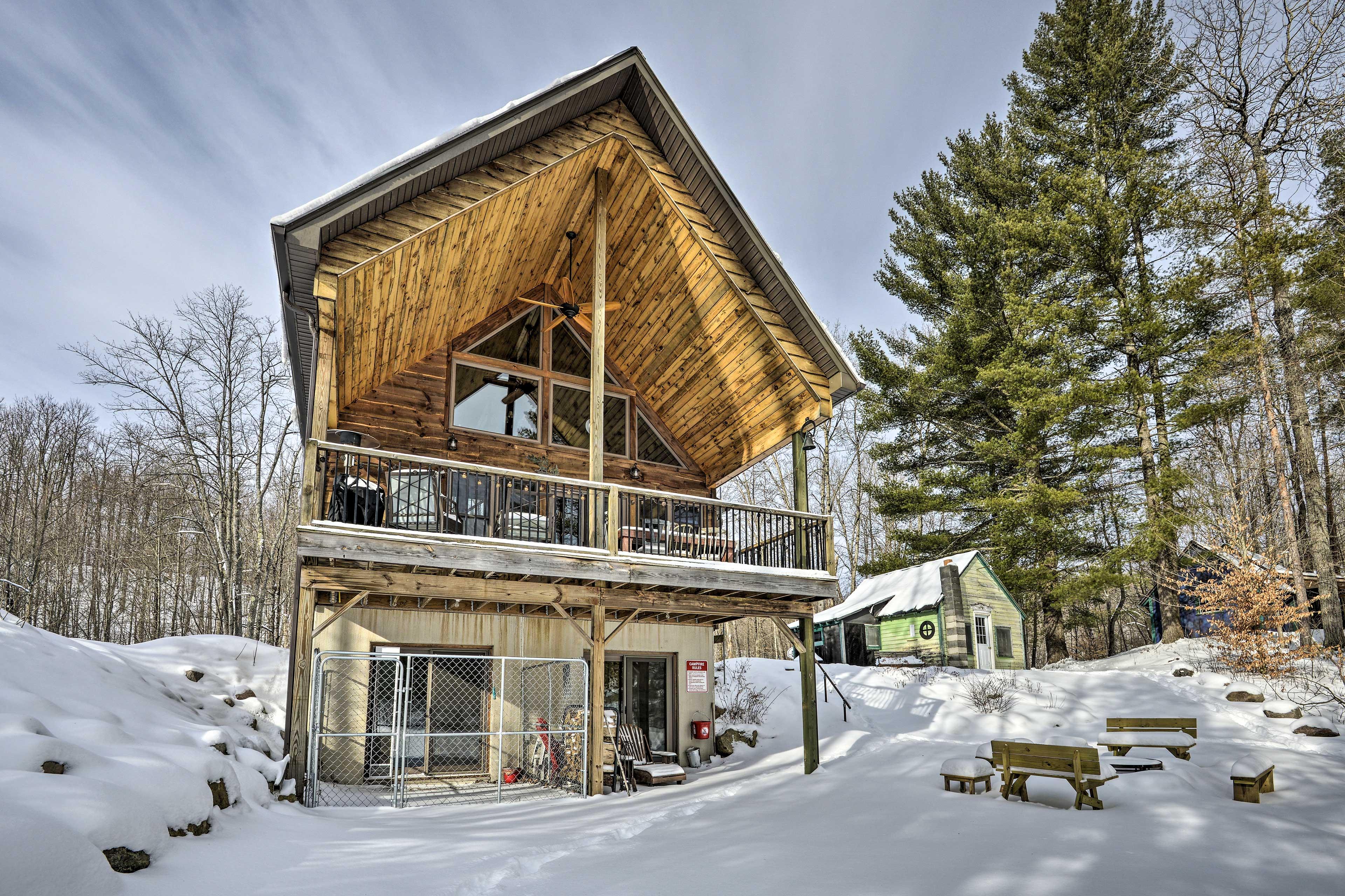 Home Exterior   Year-Round Destination