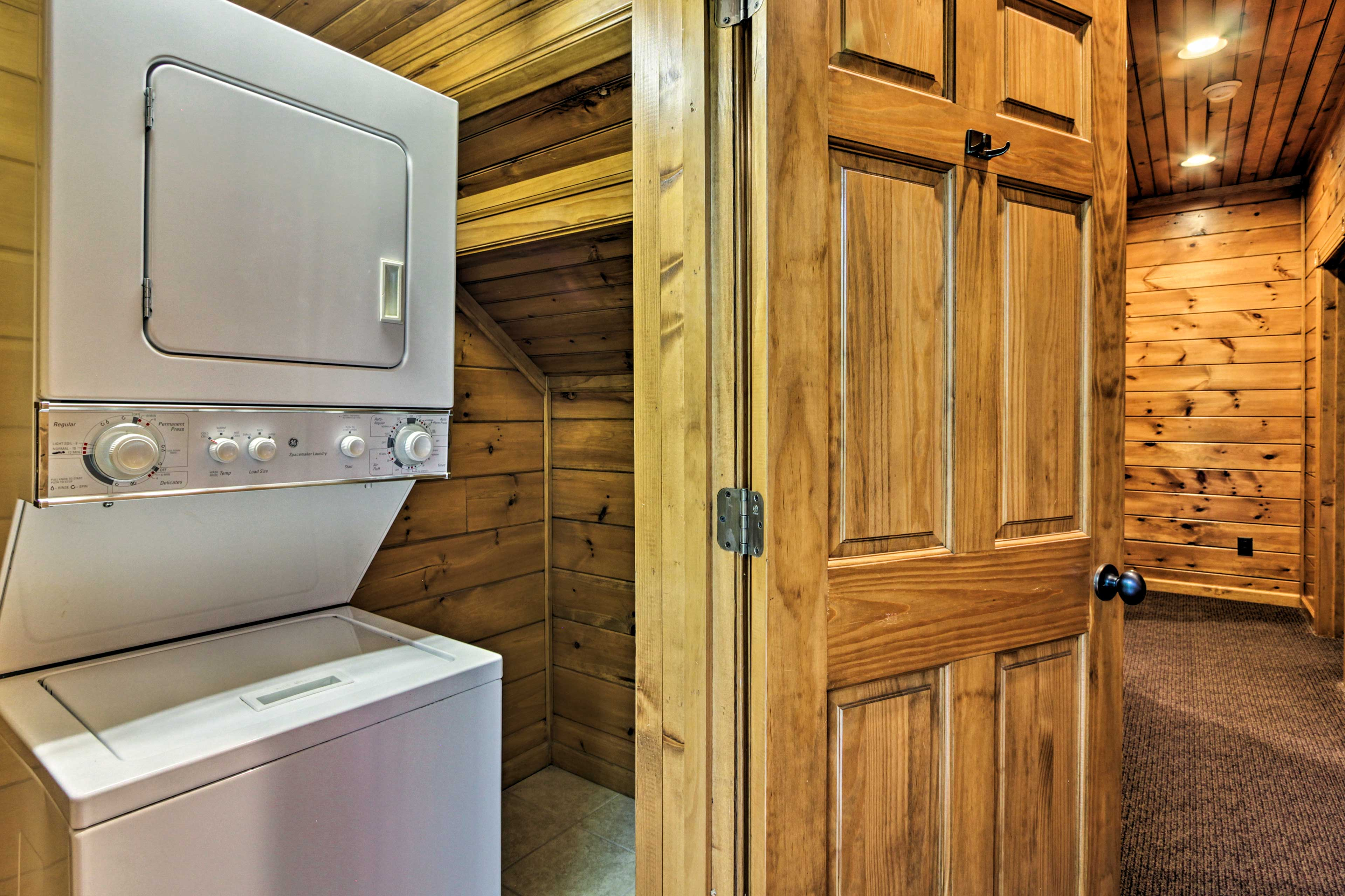 Pack light and take advantage of the on-site laundry machines.