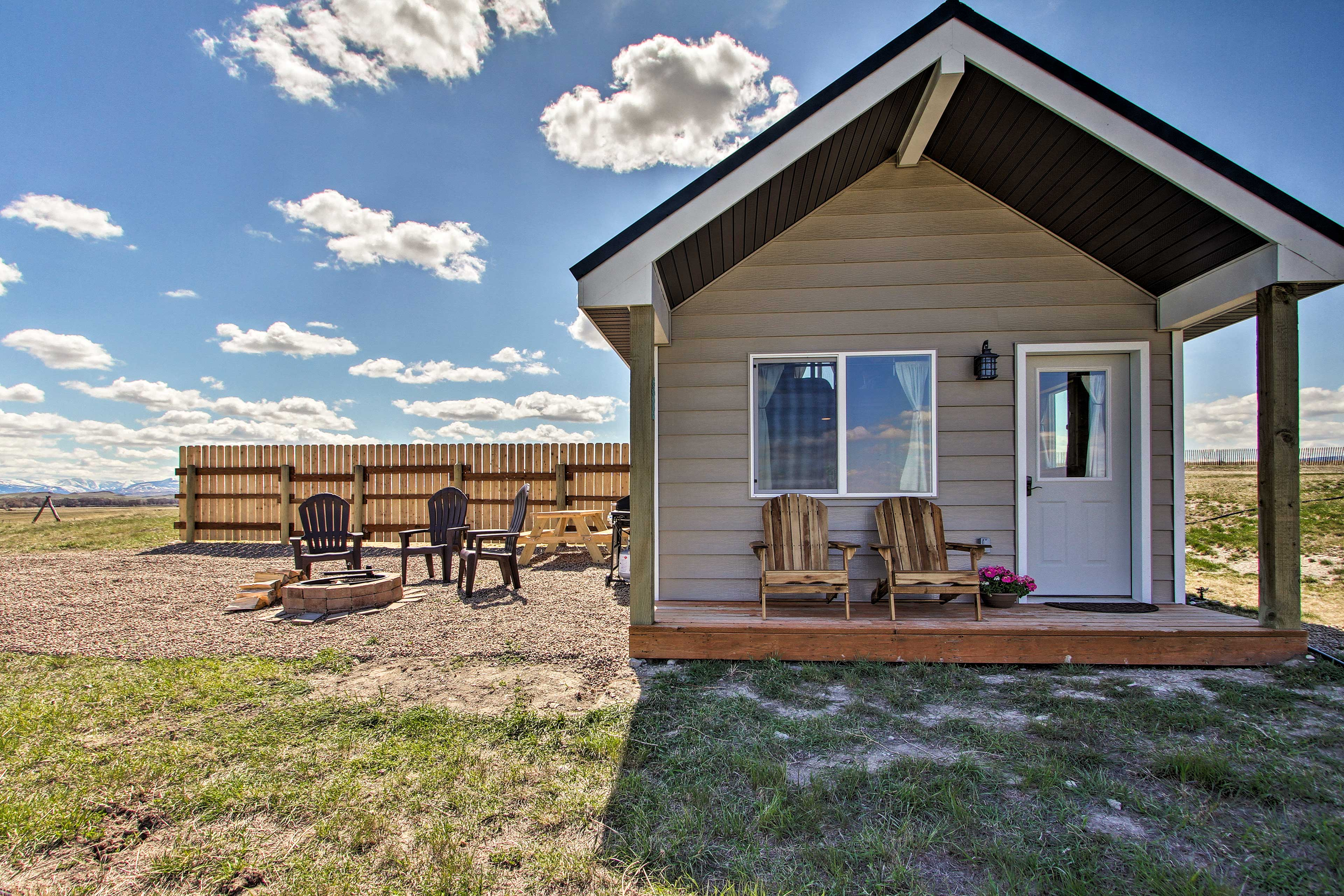 Pack your bags for an outdoor adventure at this vacation rental house!