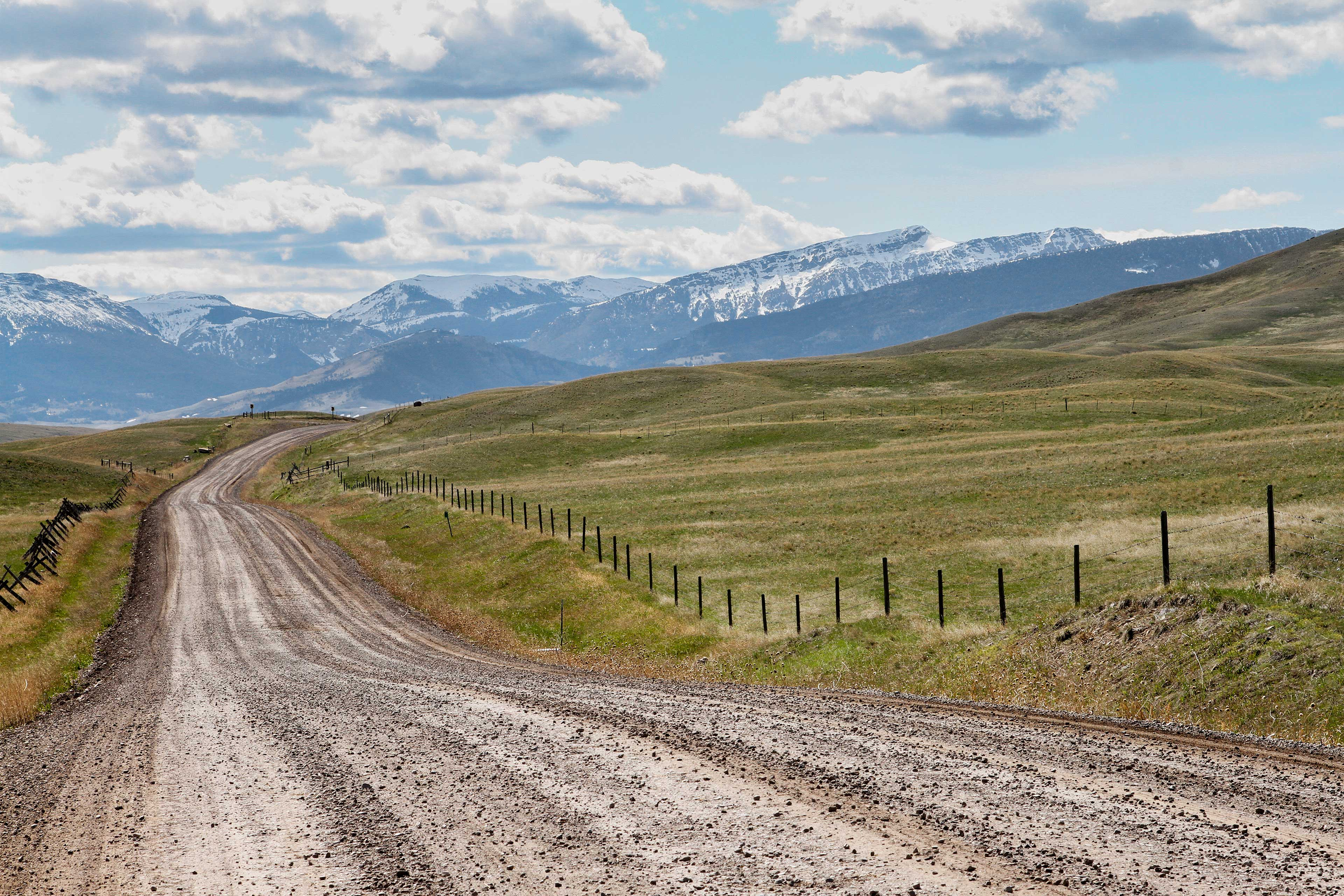 The Montana landscape is truly breathtaking.