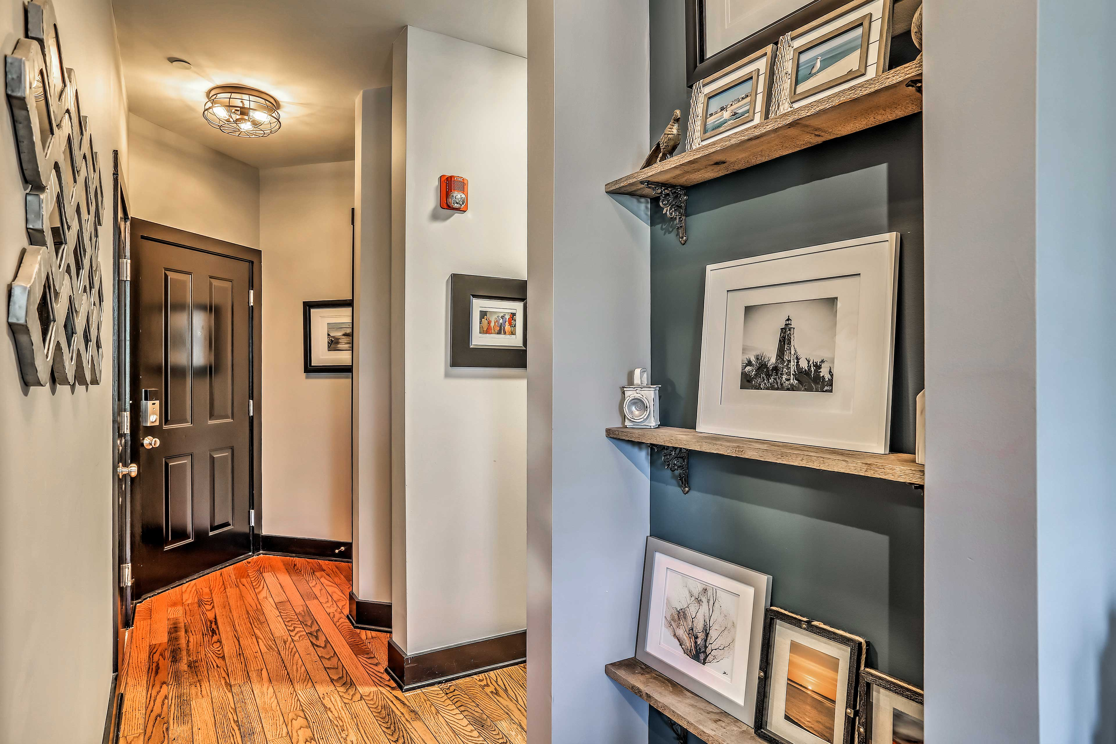Let's explore the rest of the well-appointed condo!
