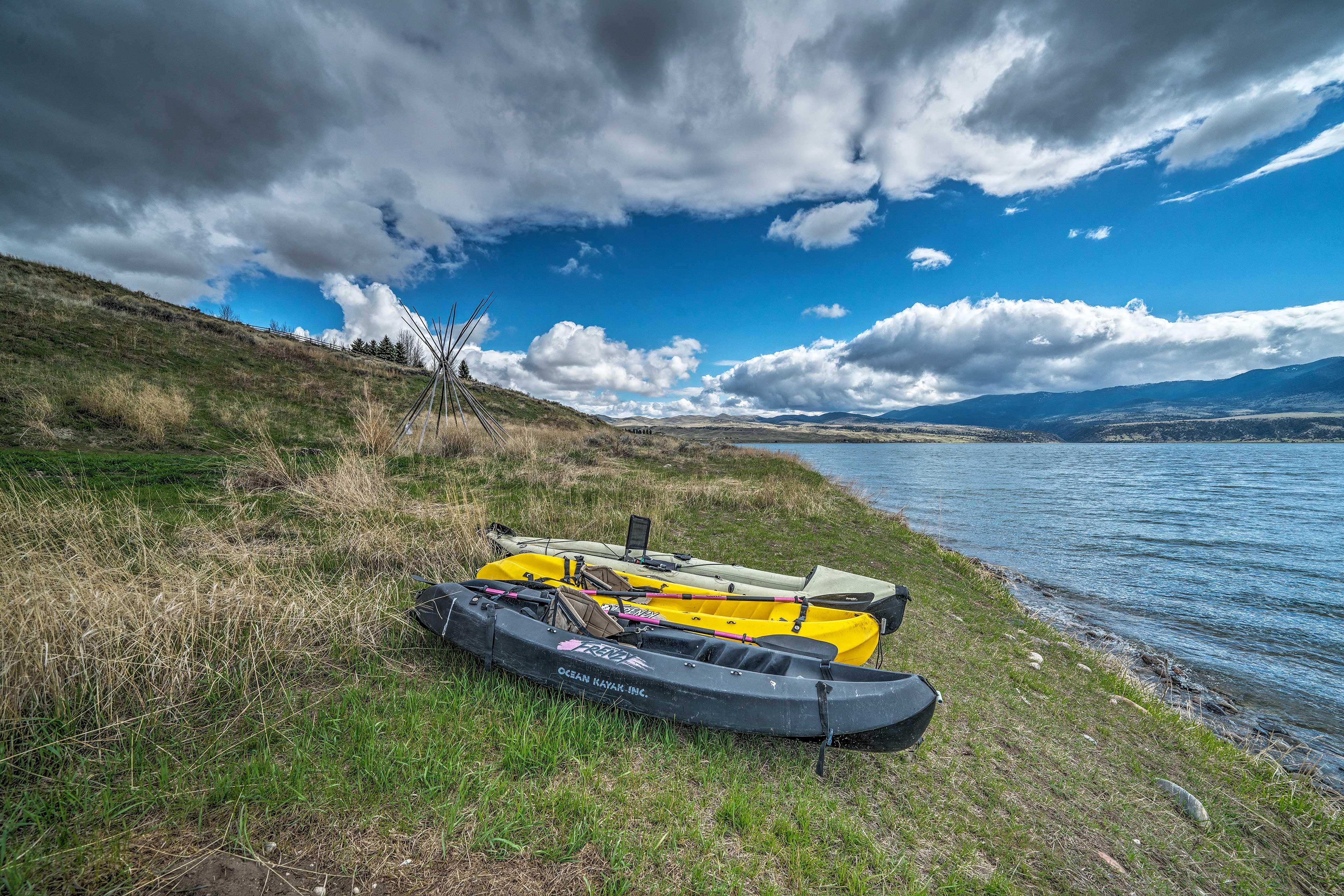 Countless outdoor adventures await!