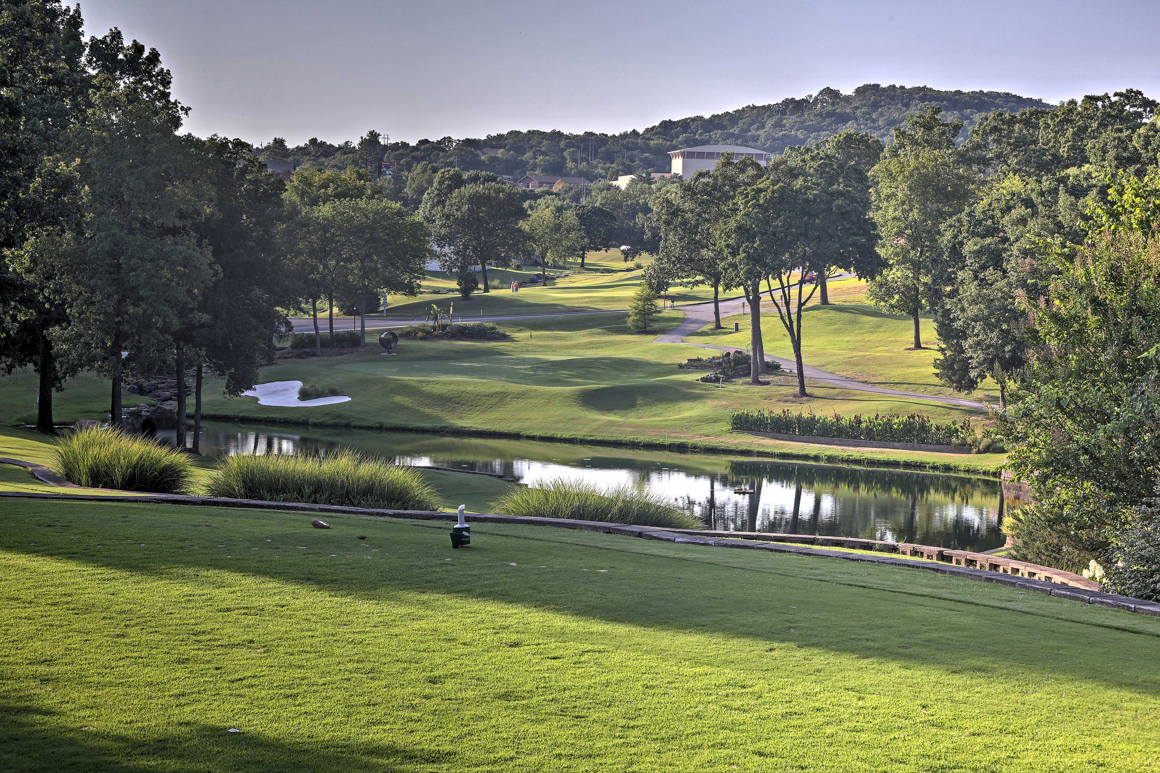 Pointe Royale Resort Amenities | Golf Course w/ Additional Fee