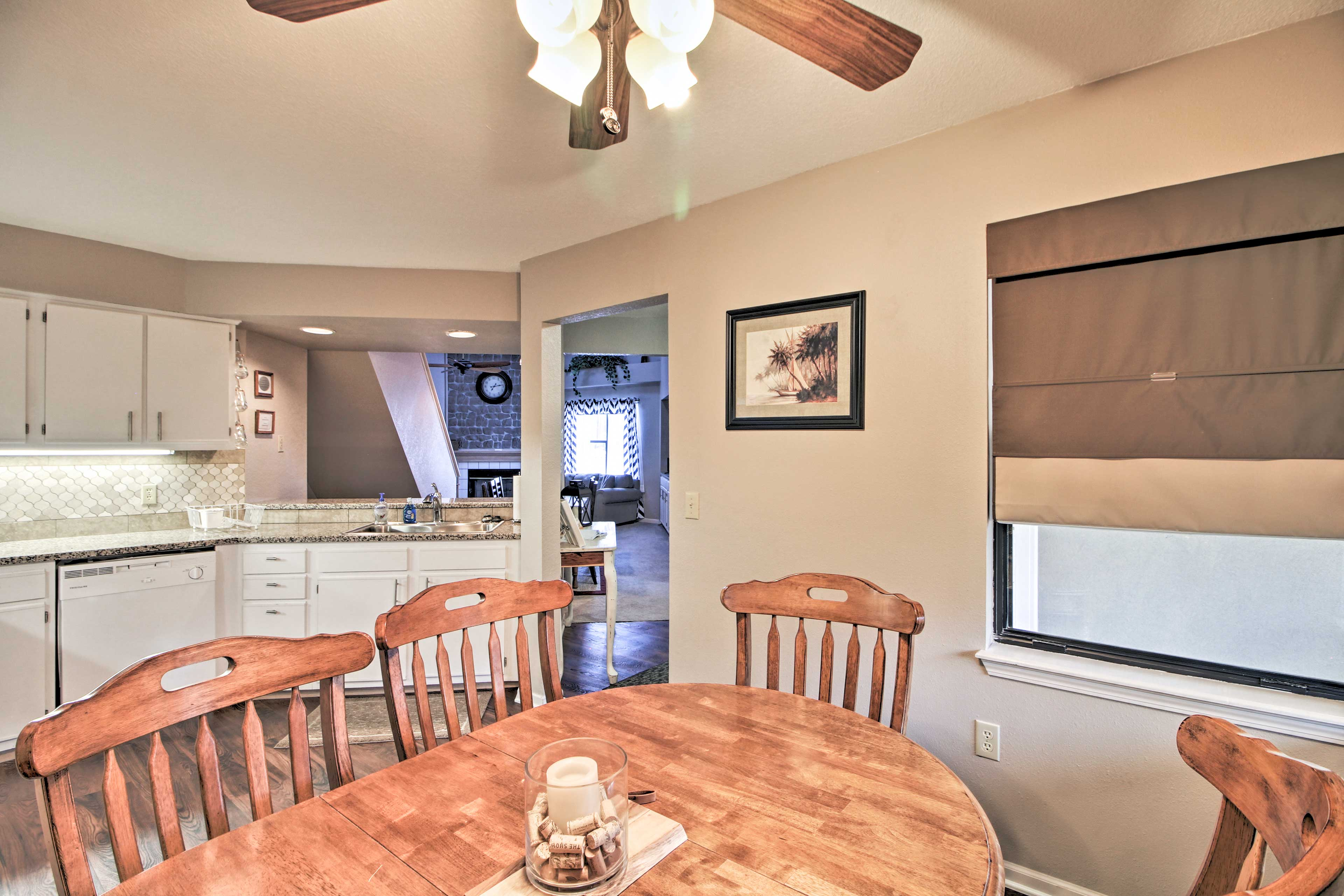 Fully Equipped Kitchen | Dining Table