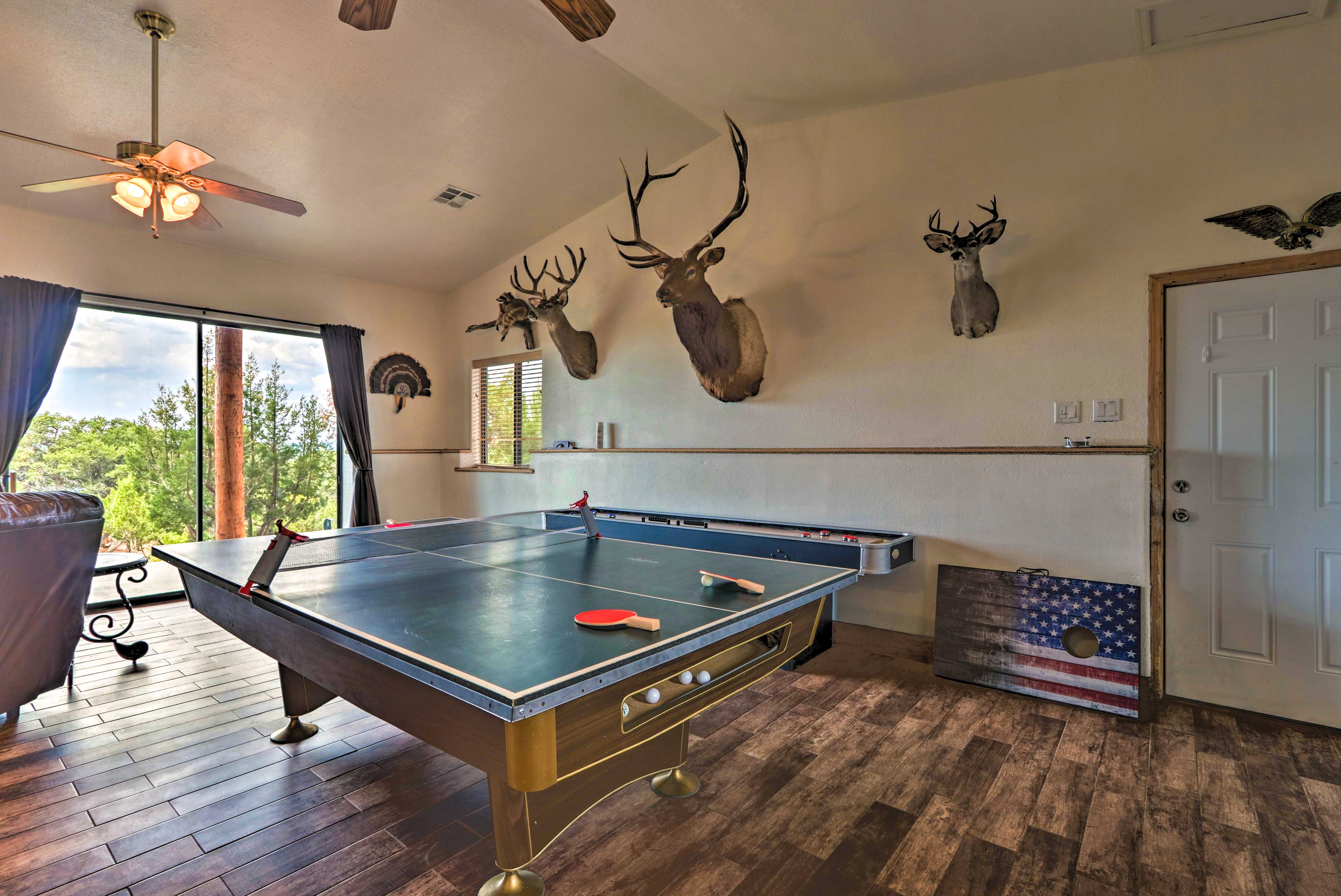 Who's up for a game of shuffleboard?