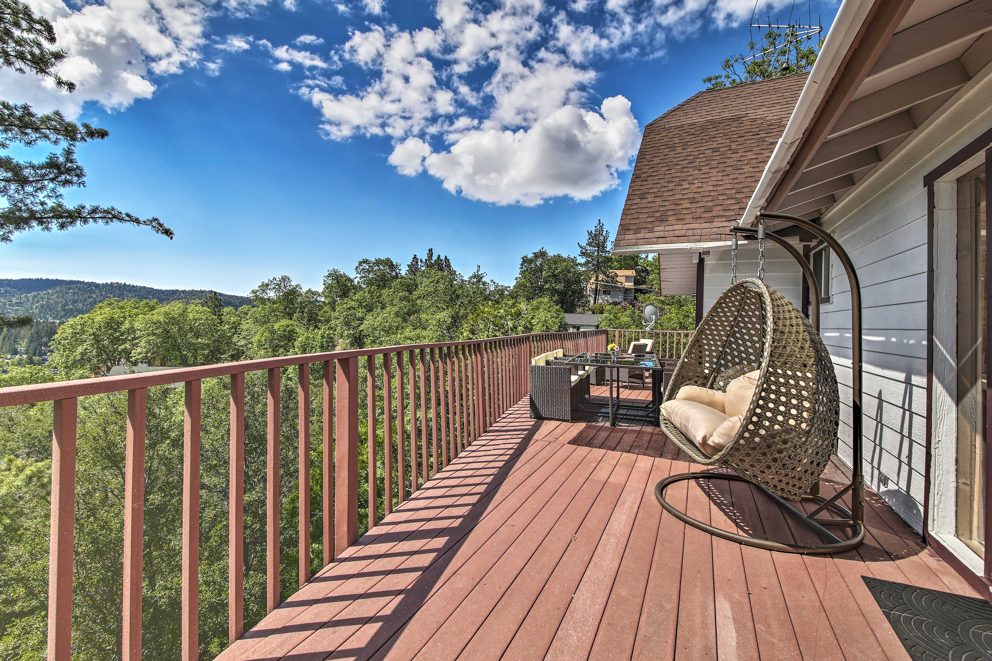 Soak up the sun on the deck.