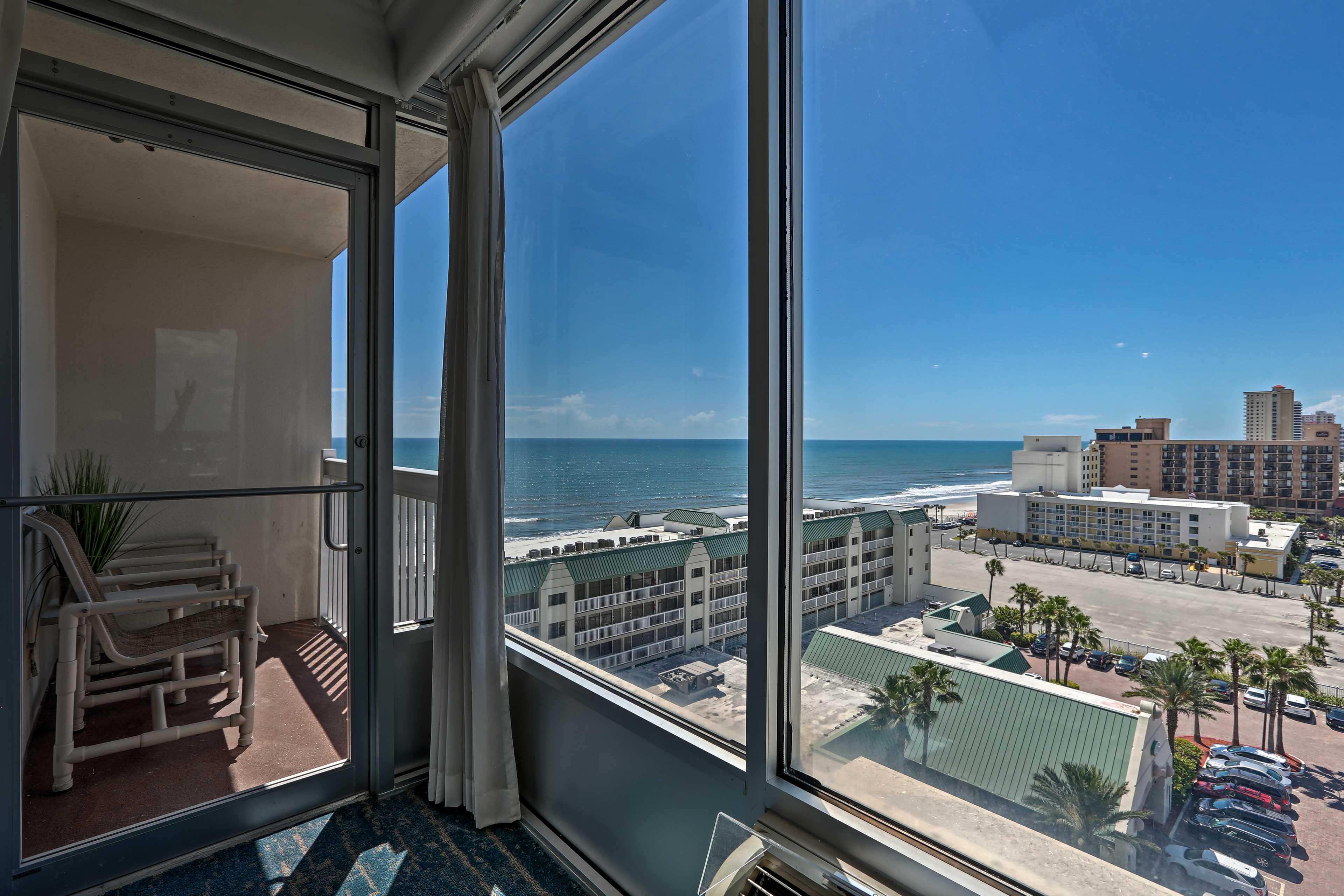 Admire the ocean views.