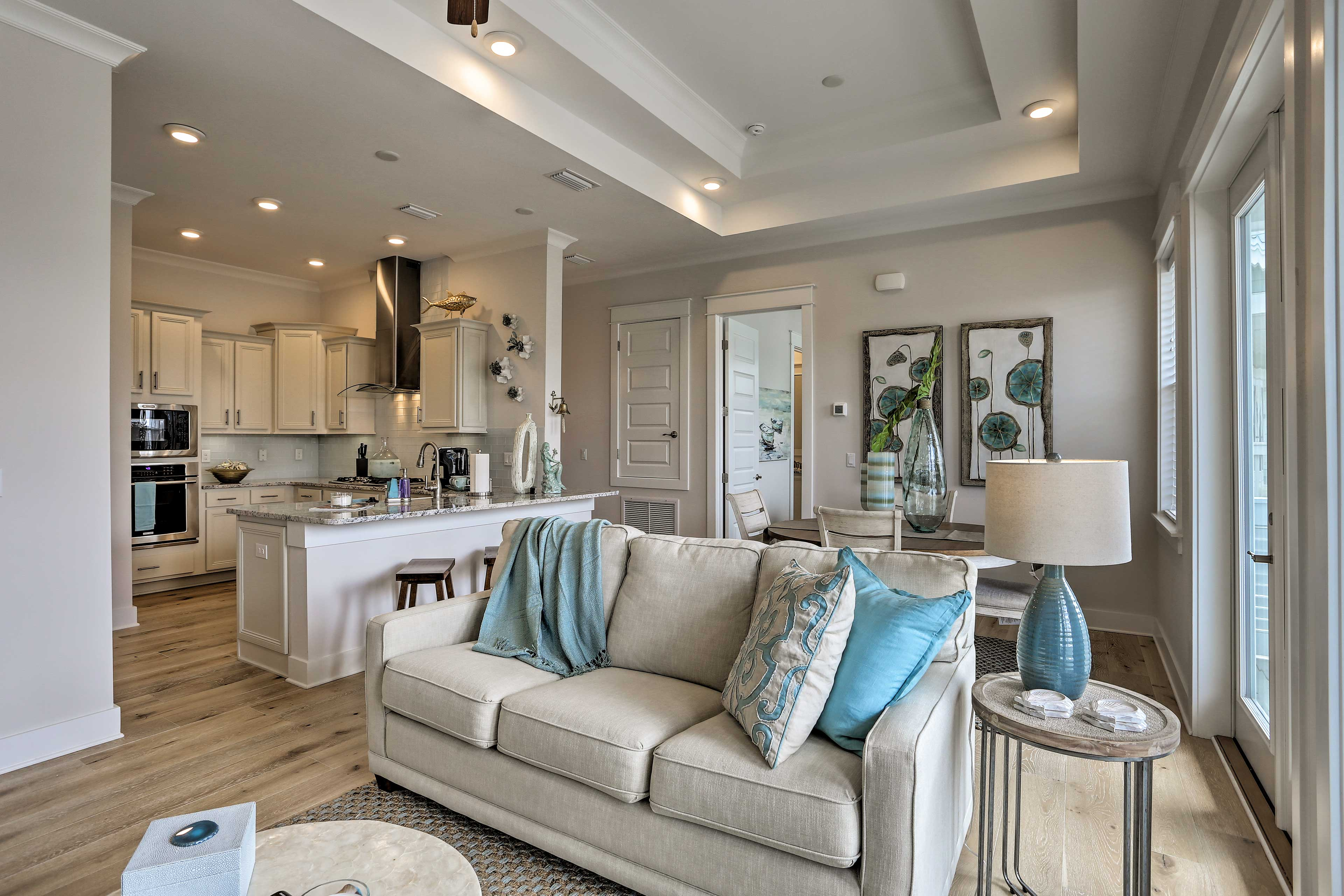 The open layout is perfect for spending quality time with loved ones.