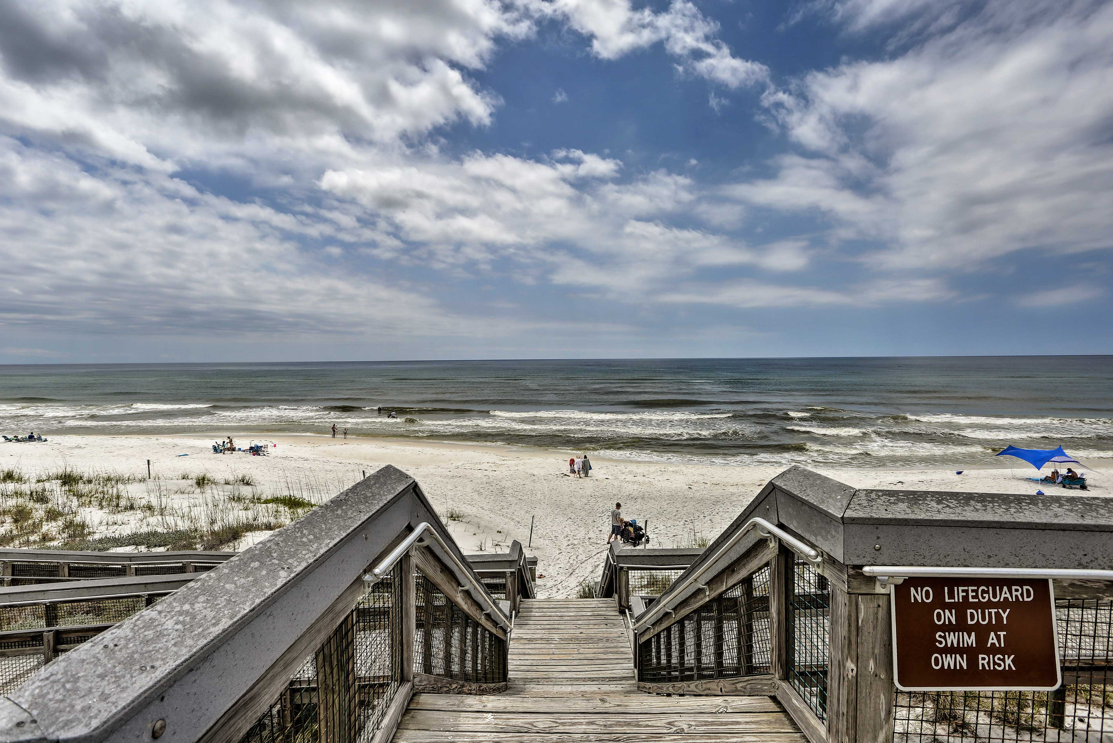 Head to the beach to sink your toes in the sand and play in the surf.