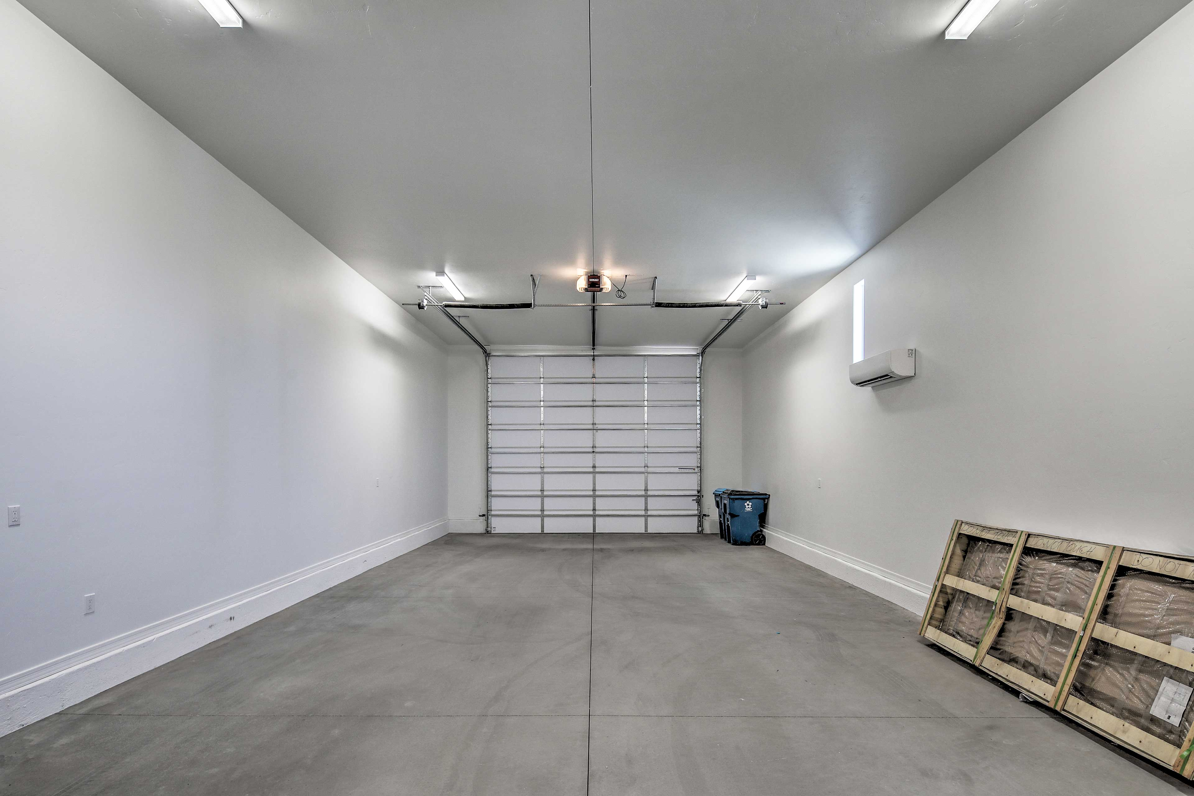 The home features an 64-foot deep motor home garage with a 14-foot door.