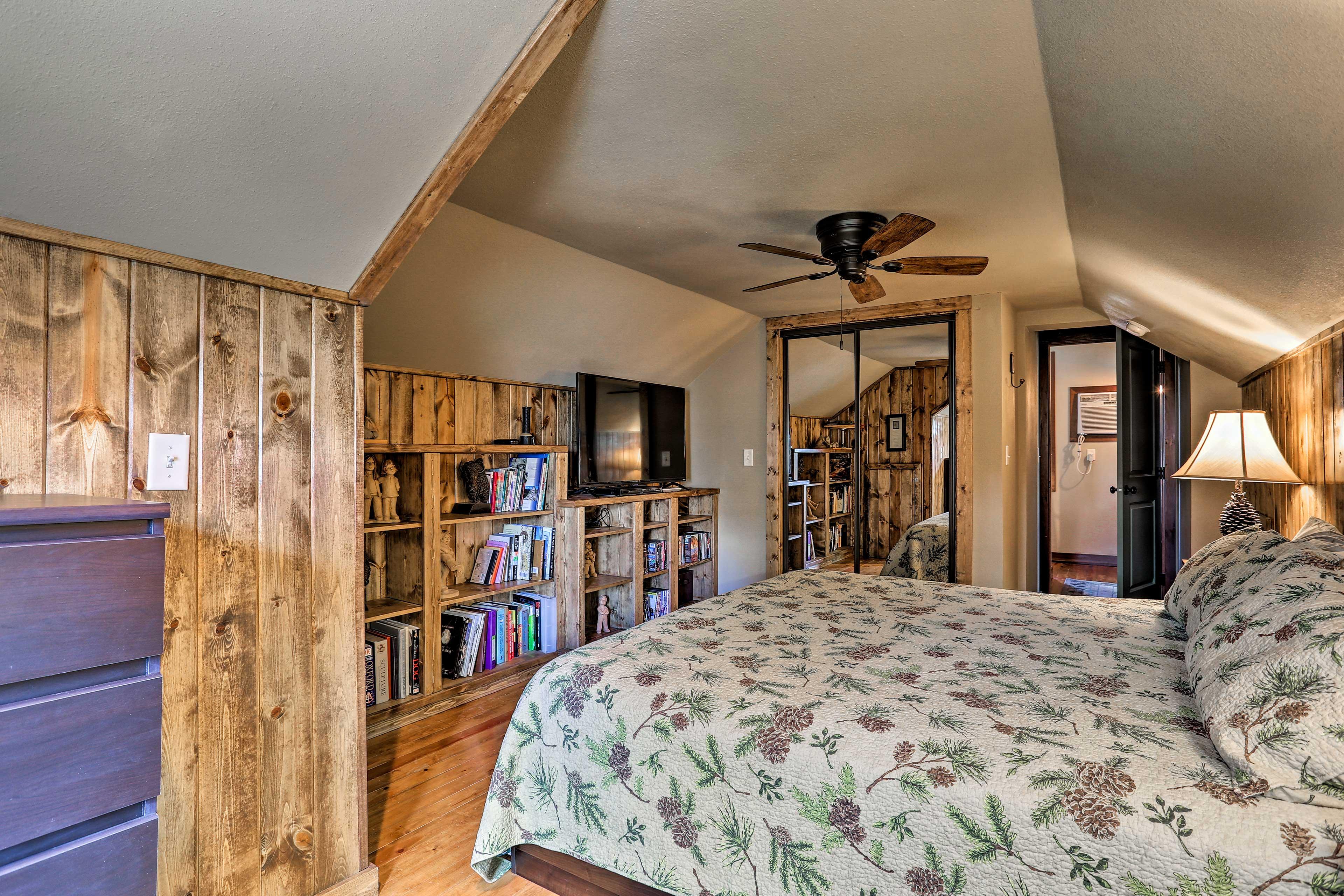 Choose a book off the shelf to help you fall asleep!