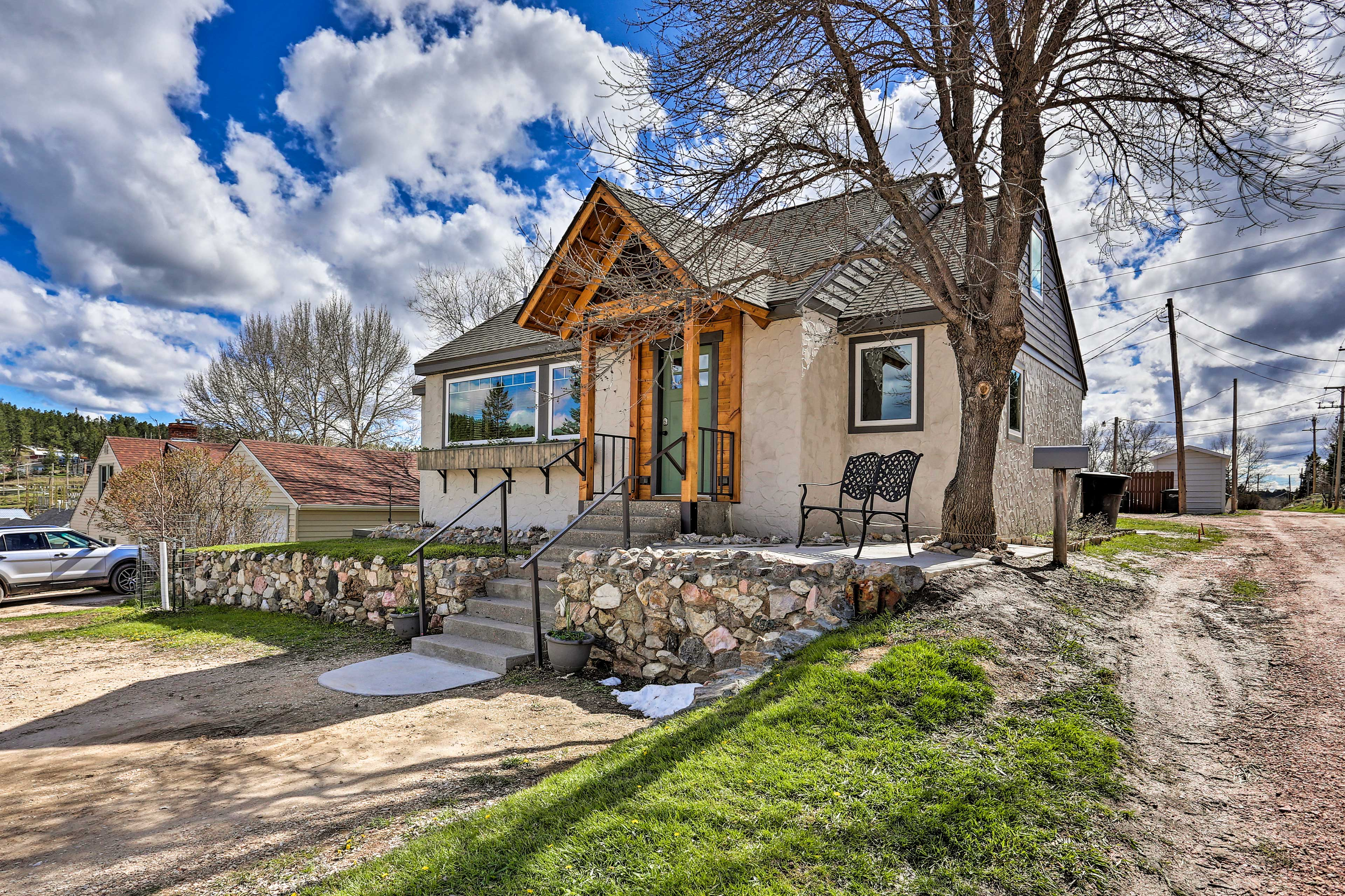 This one-of-a-kind cottage is just 1 block off the city's main street.