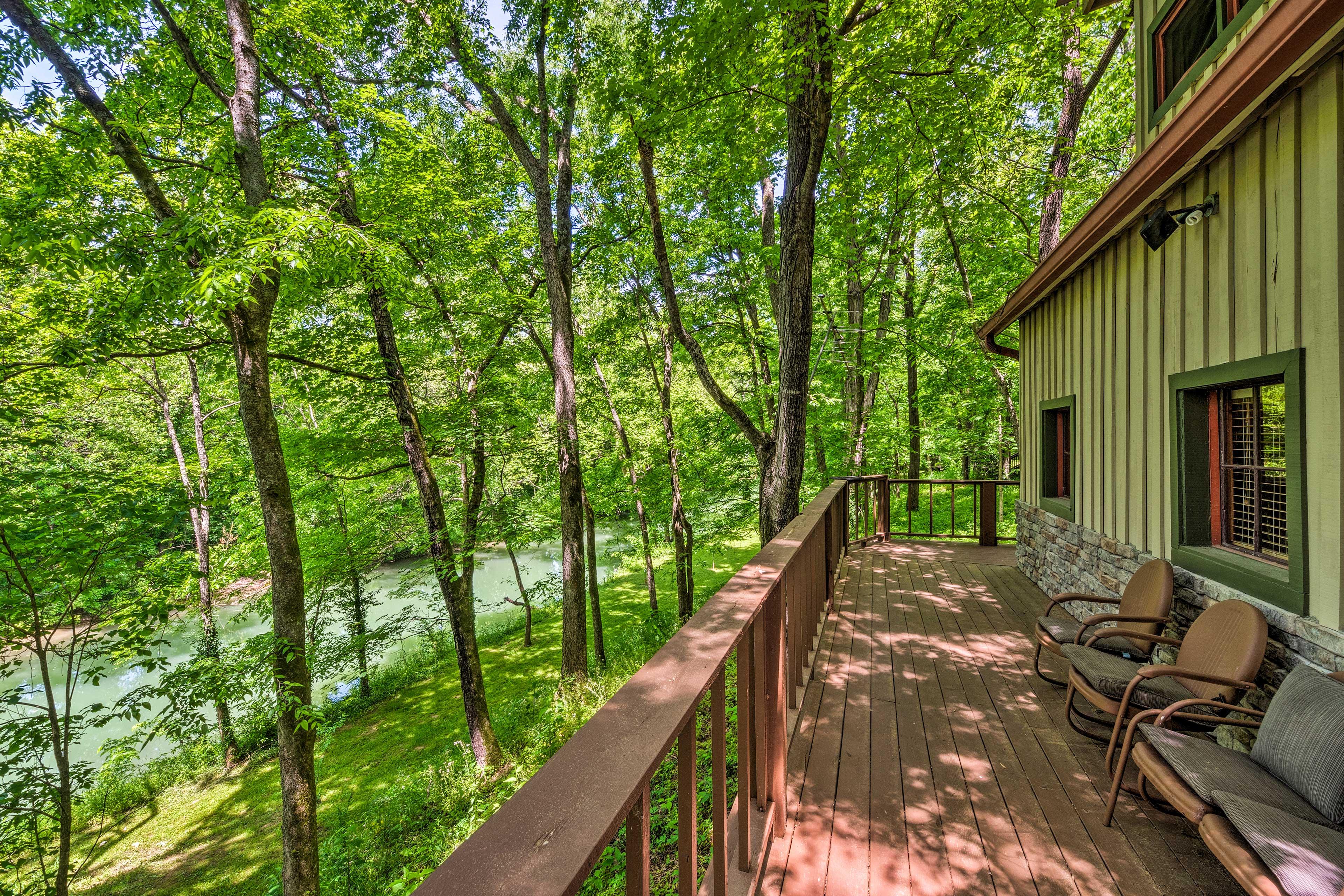 Enjoy the views from your wraparound deck!